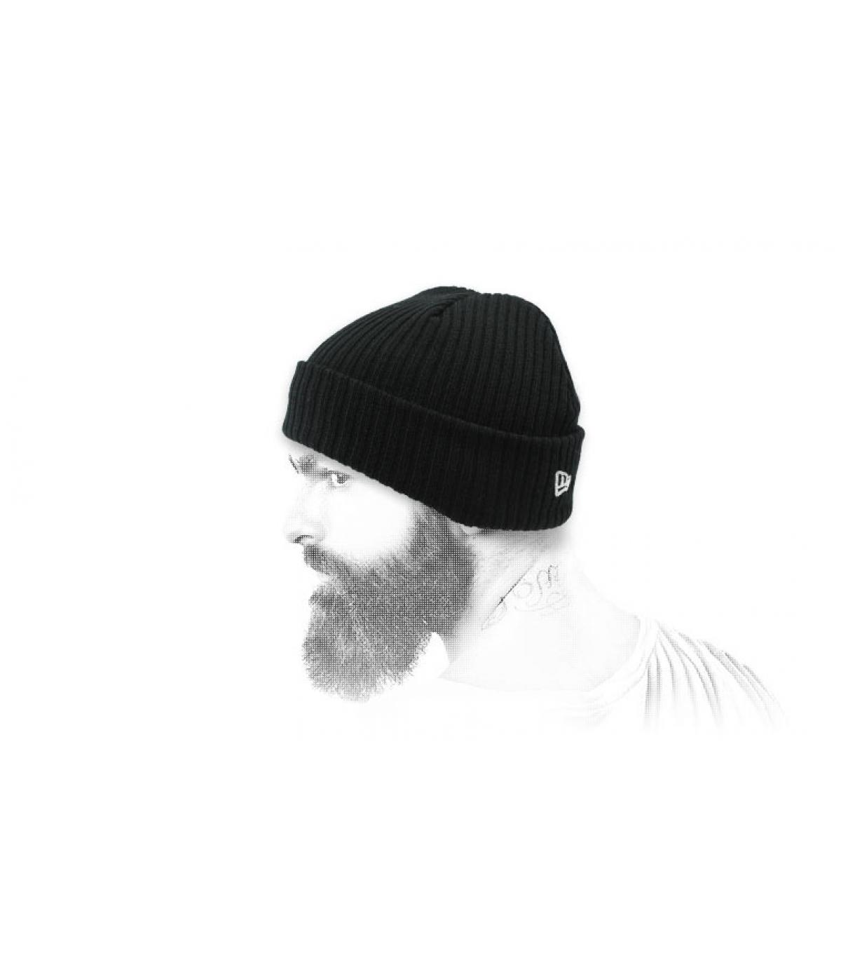 cappello docker nero
