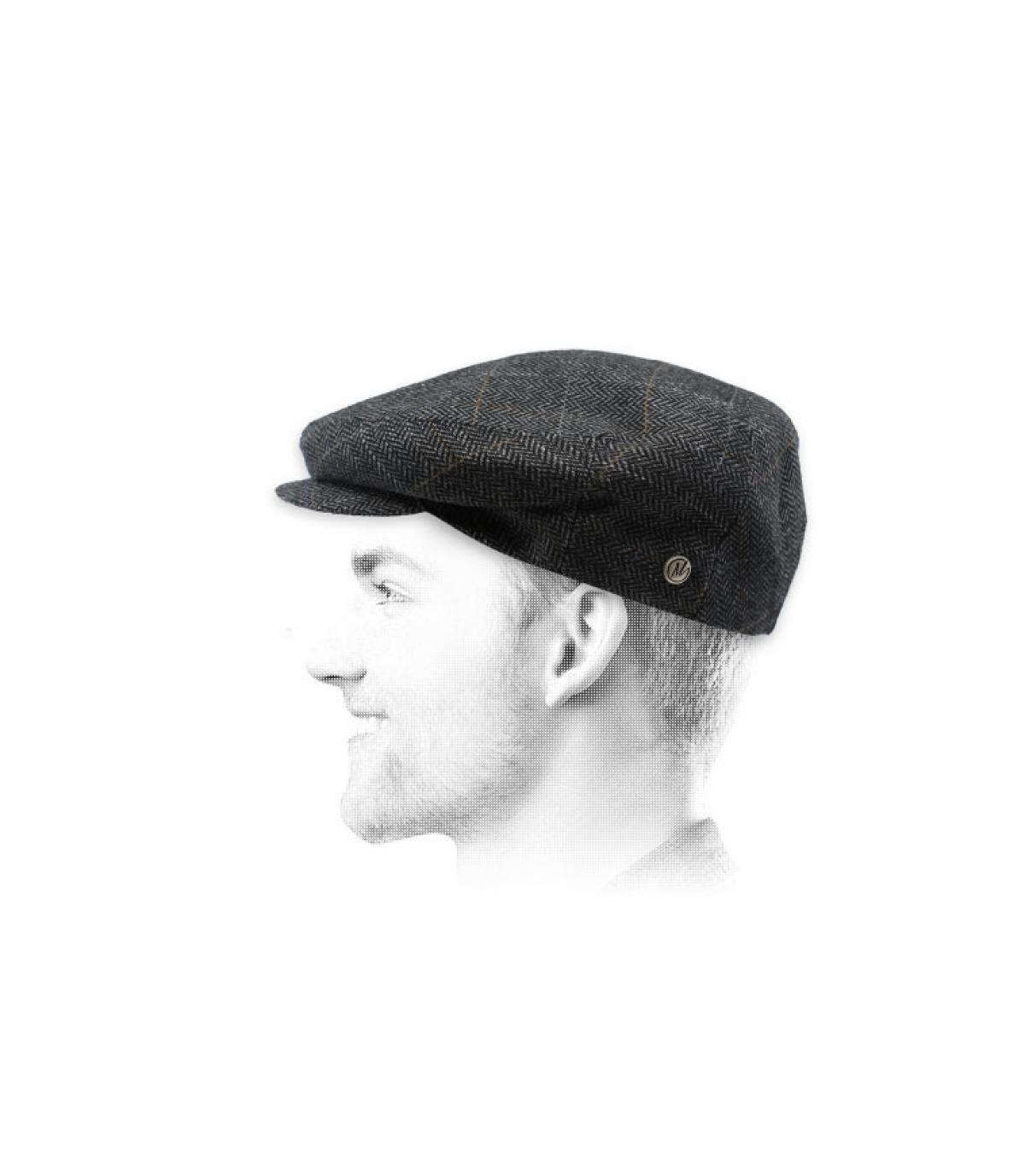 modello di berretto grigio
