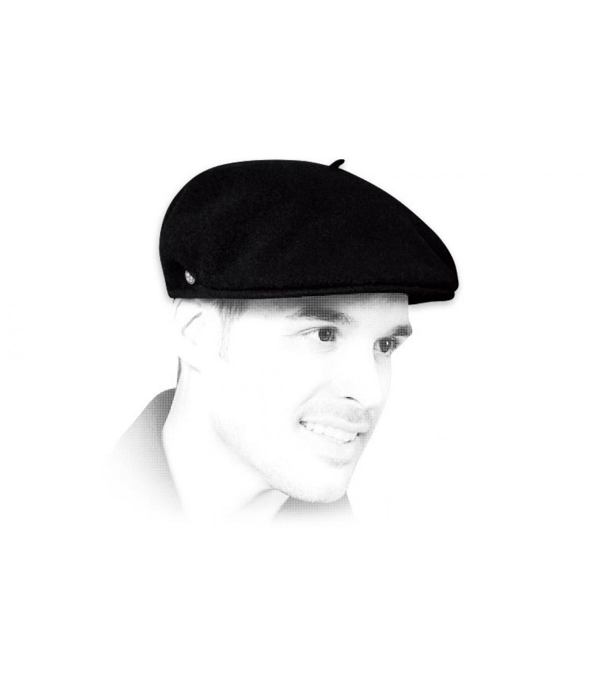 Cappellino retro nero