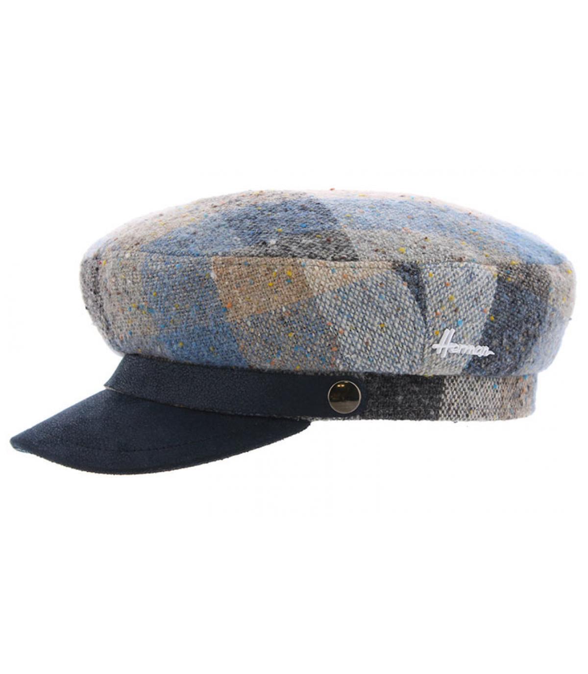 berretto marino scozzese blu