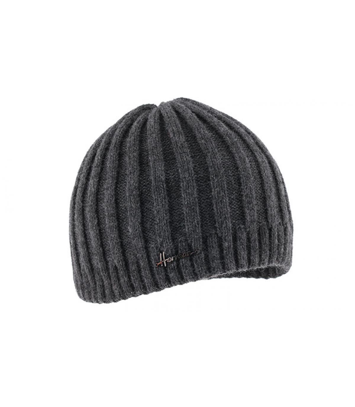 cappello corto grigio