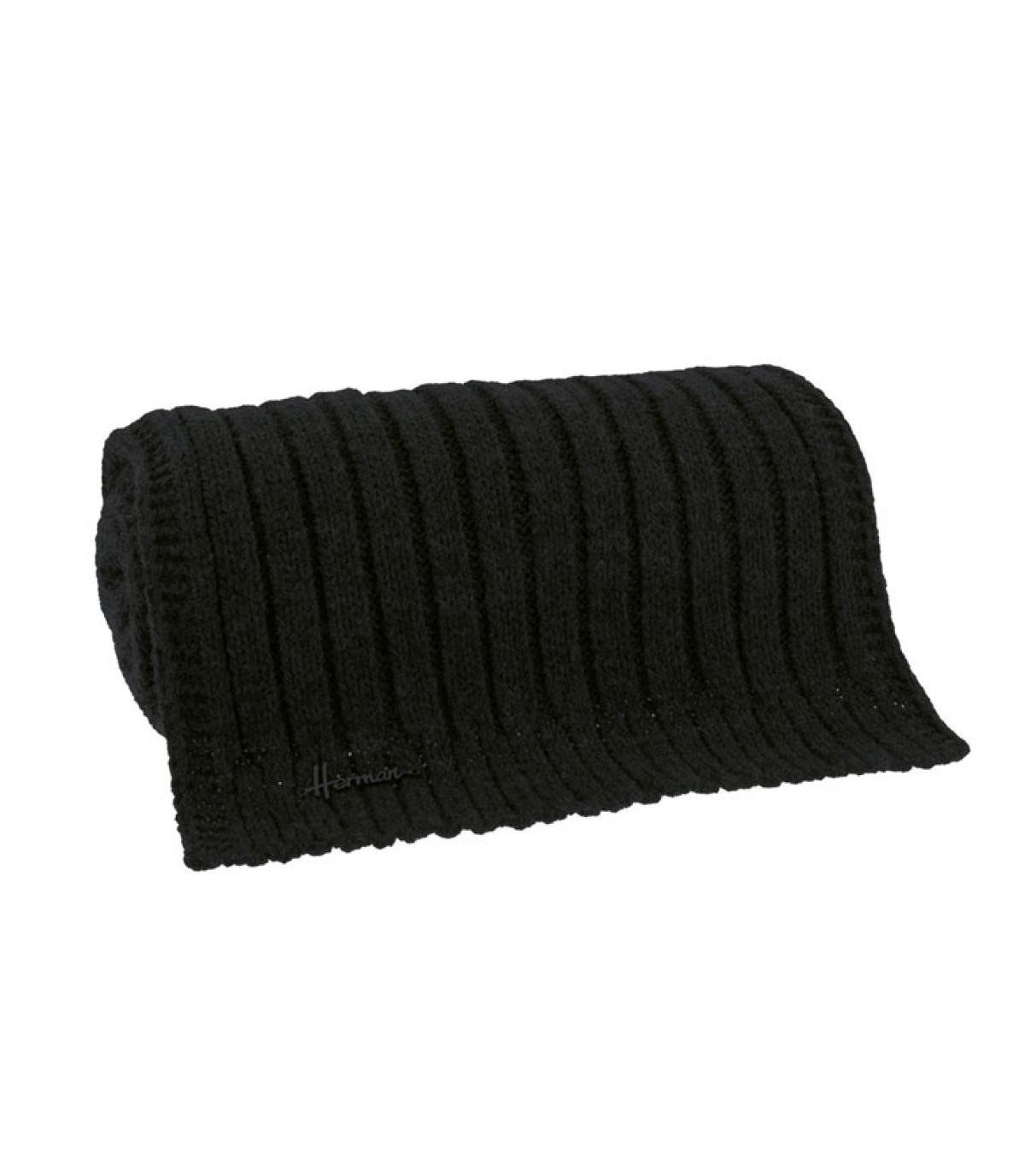 morbida sciarpa nera