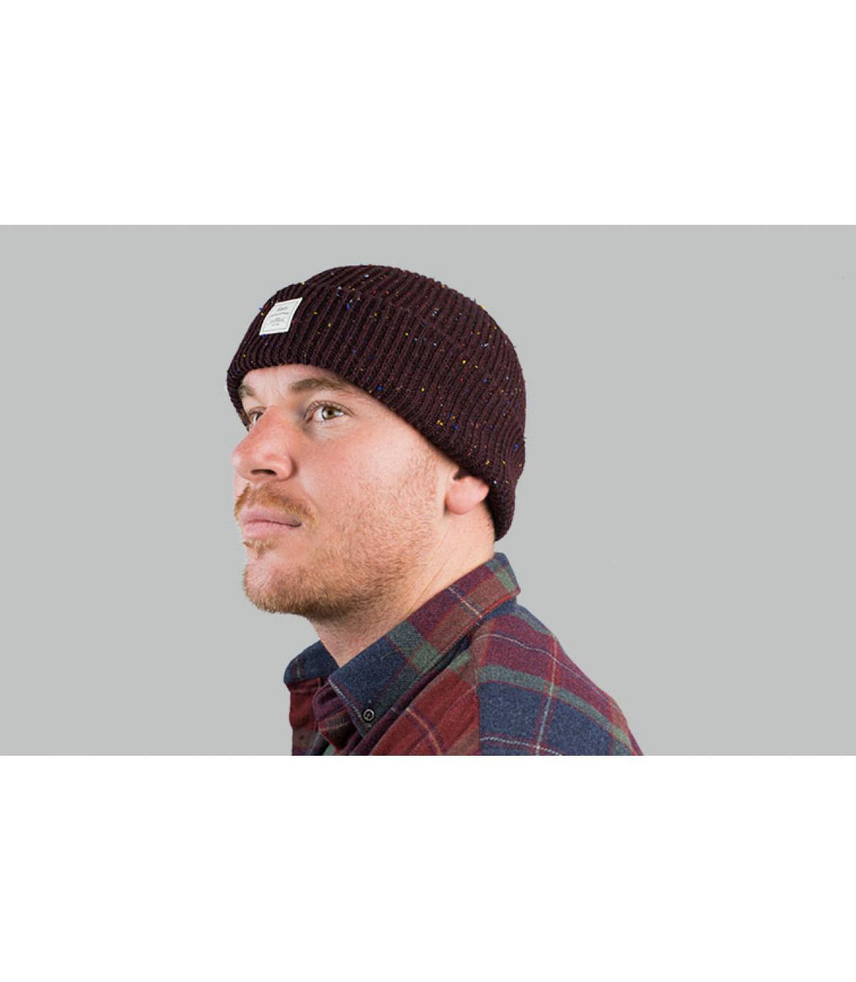 cappello bordeaux bordeaux