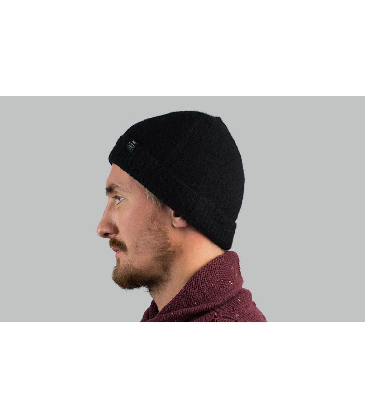 cappello nero di alpaca Barts