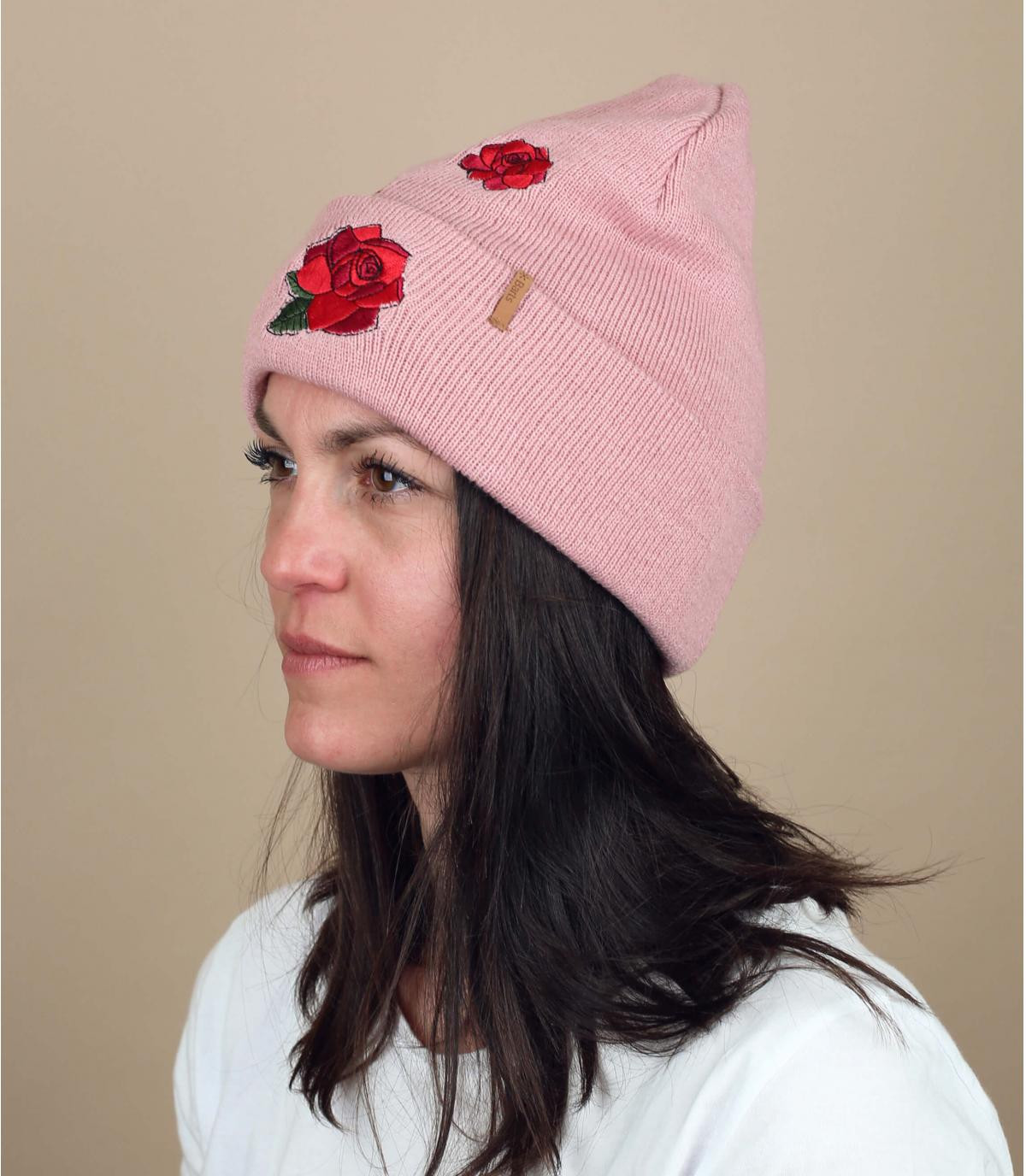 cappello di fiori rosa Barts