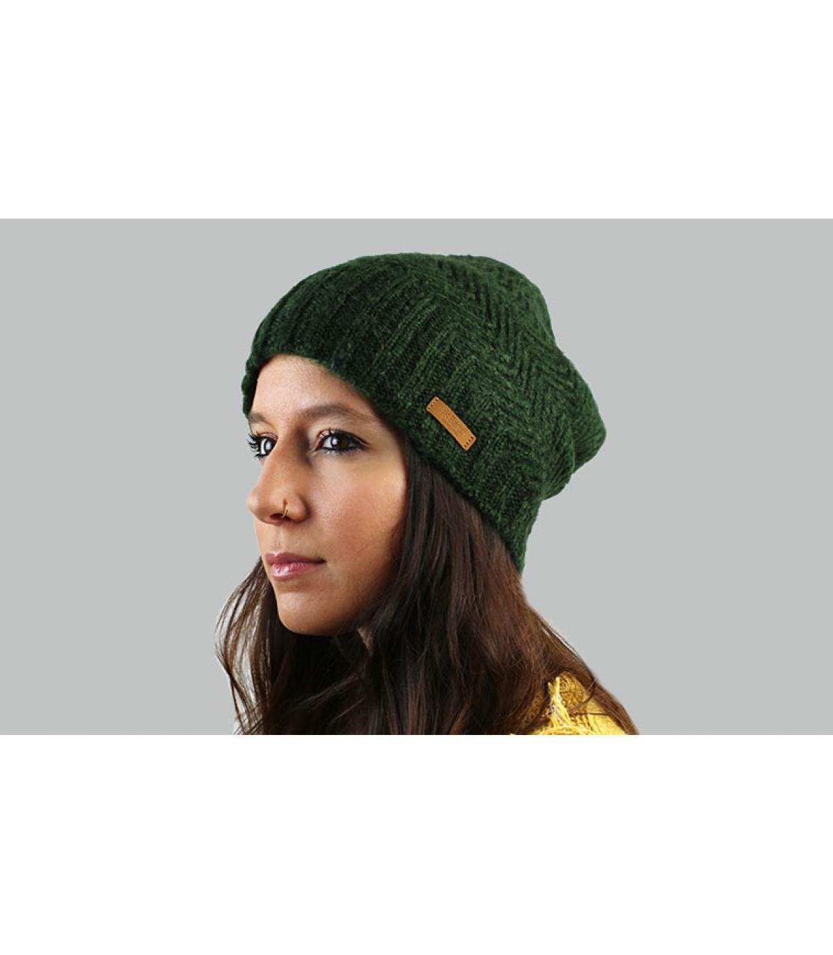 Barts lungo cappello verde