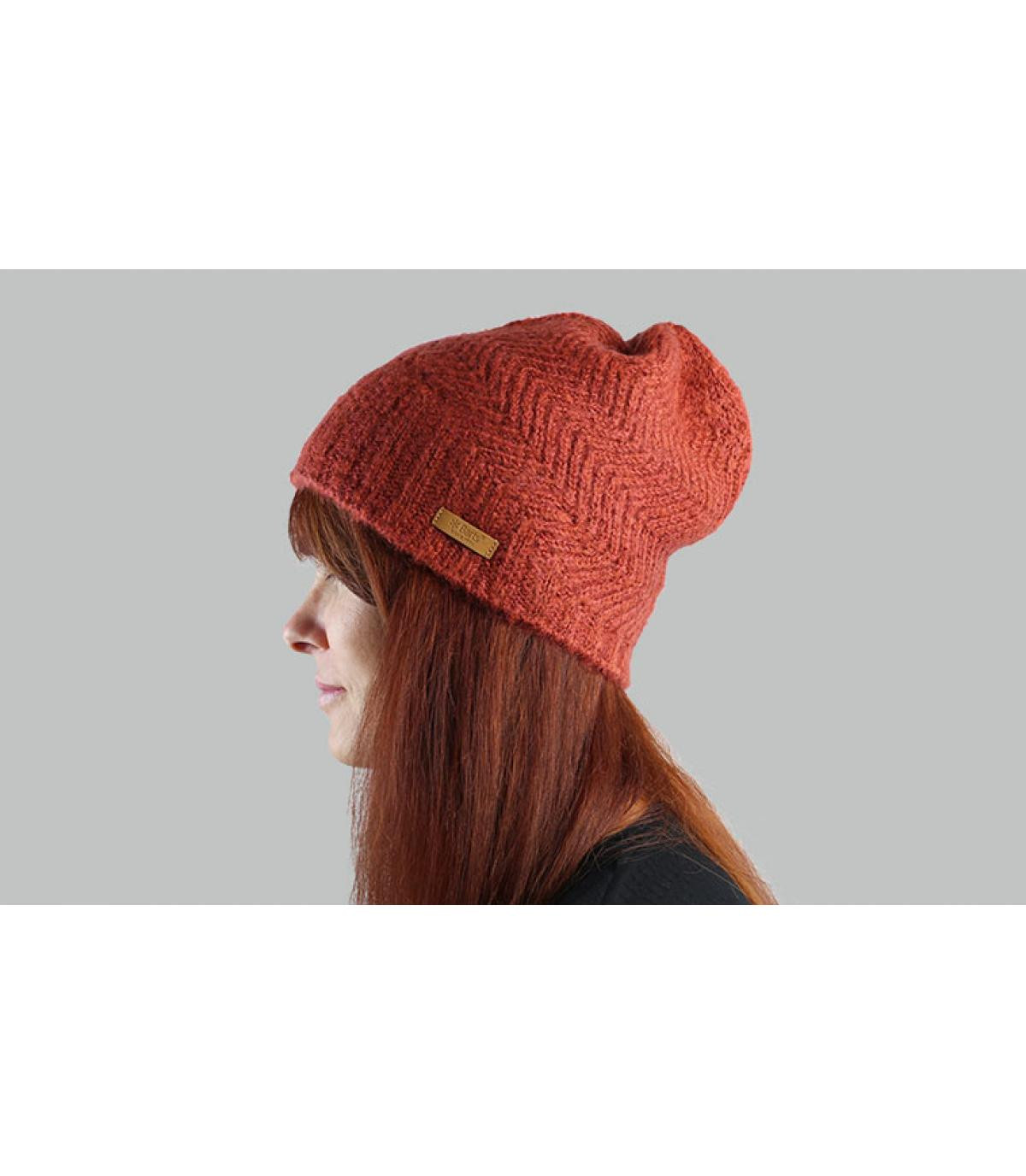 Barts long hat arancione