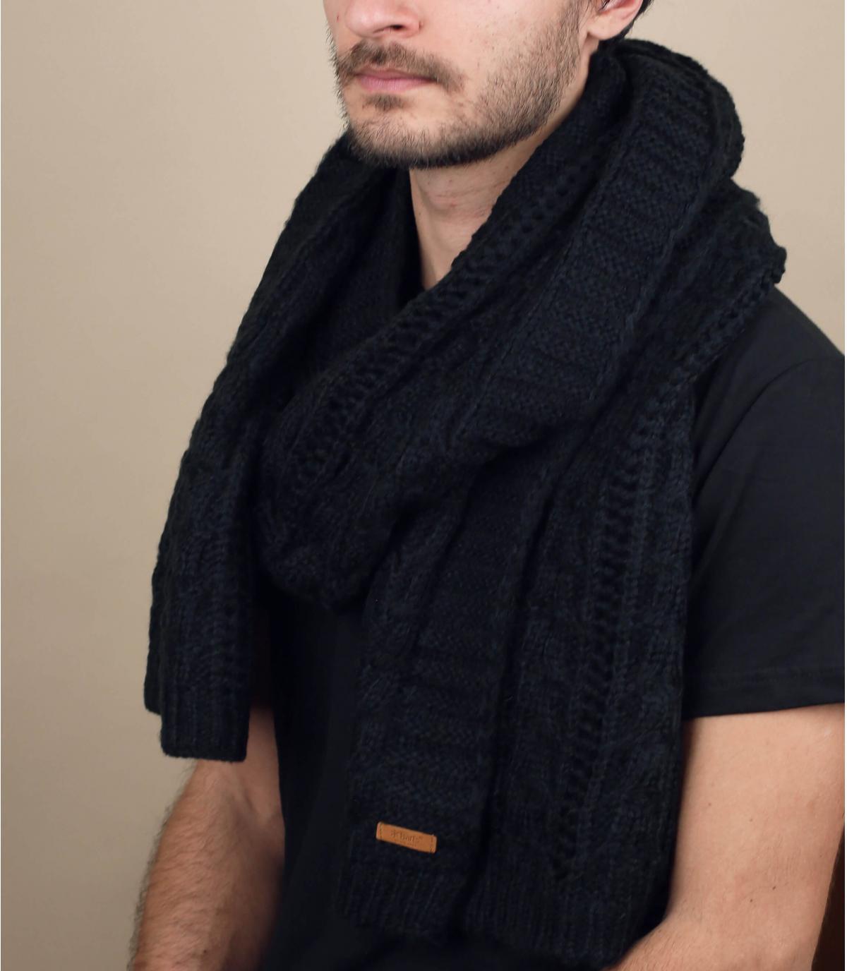 Barts sciarpa nera
