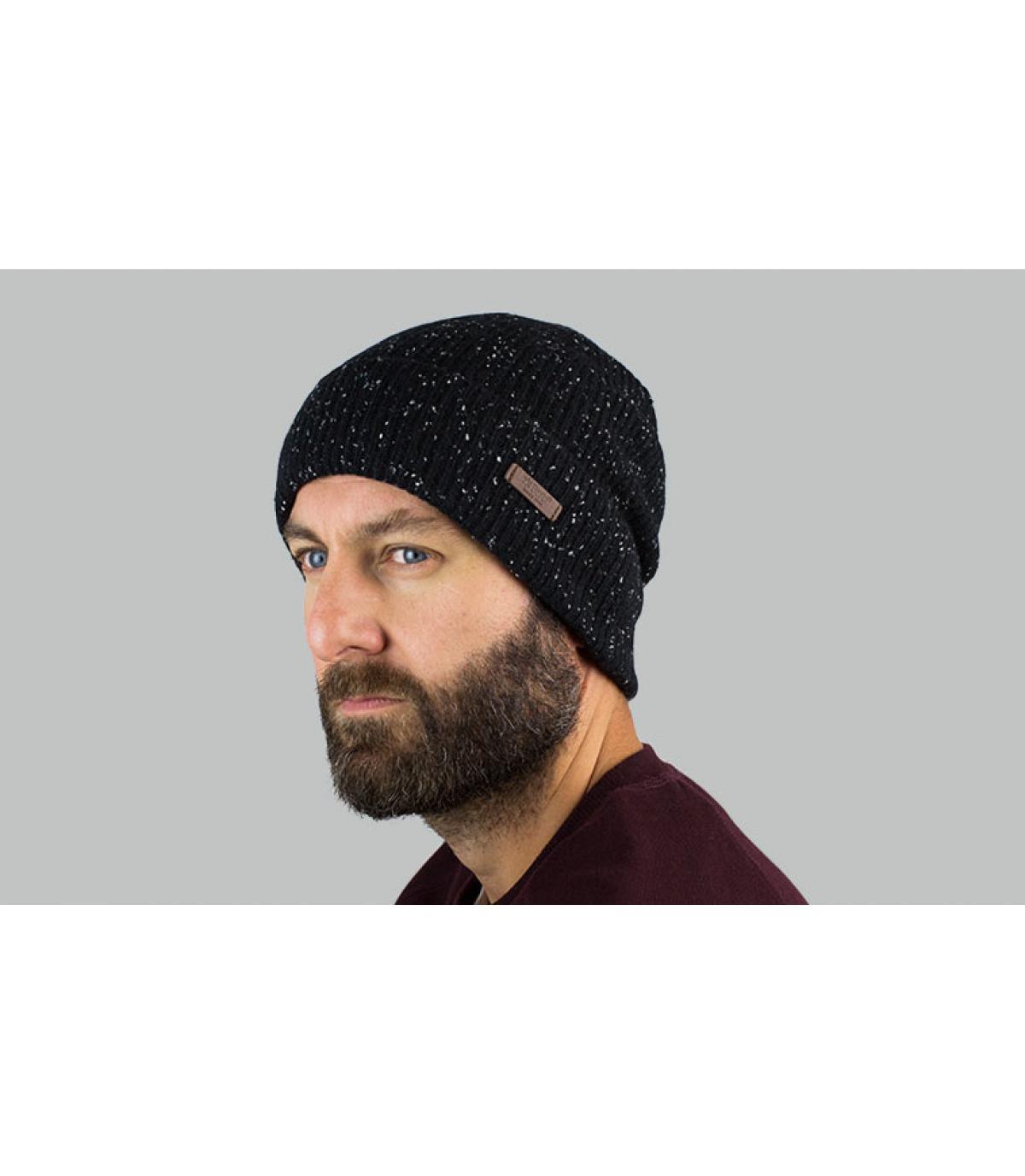 cappello nero erica