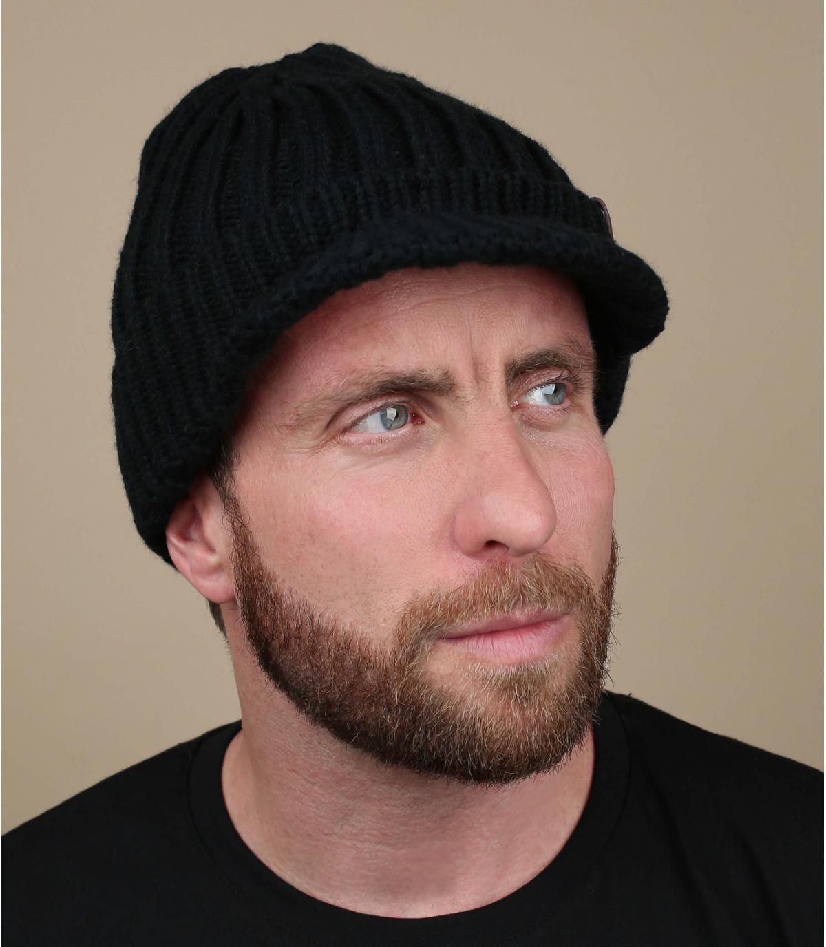 cappello visiera nera Barts