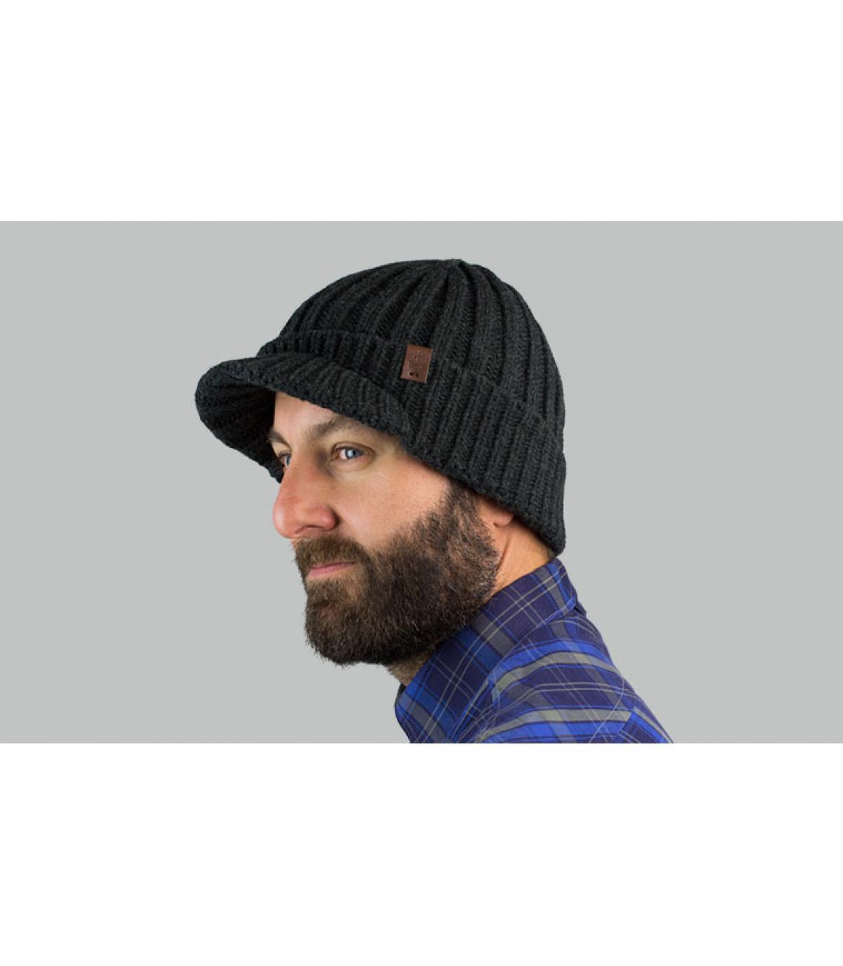 cappello visiera grigia Barts