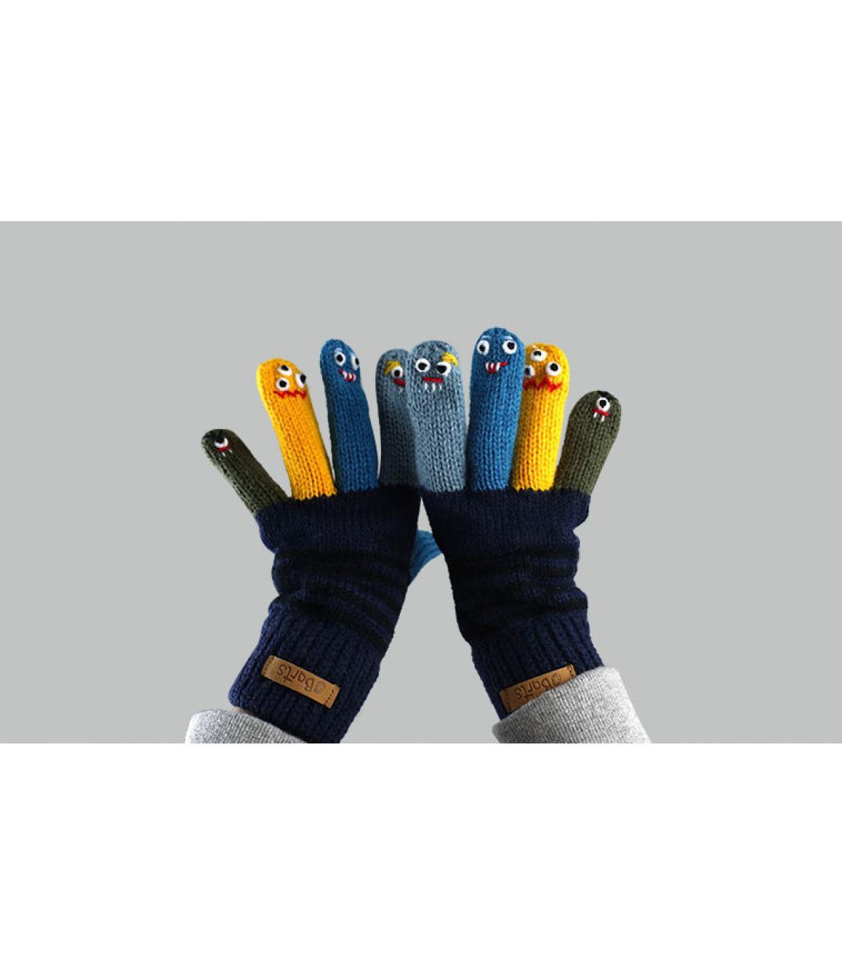 guanti da burattino da bambino