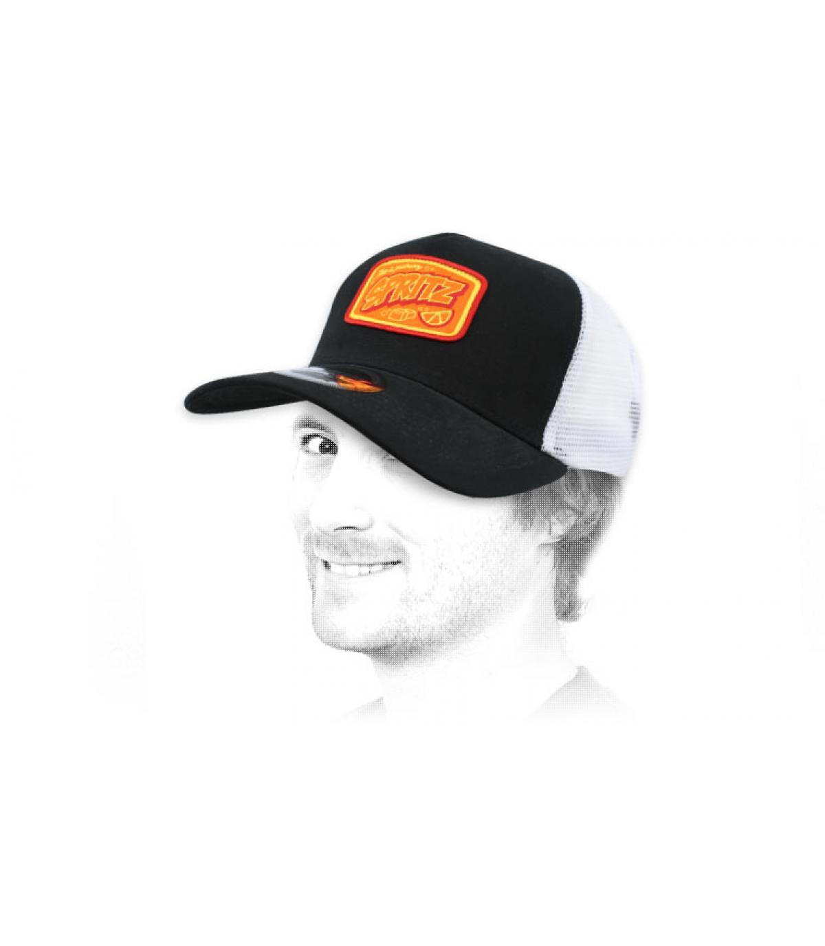 trucker Spritz nero