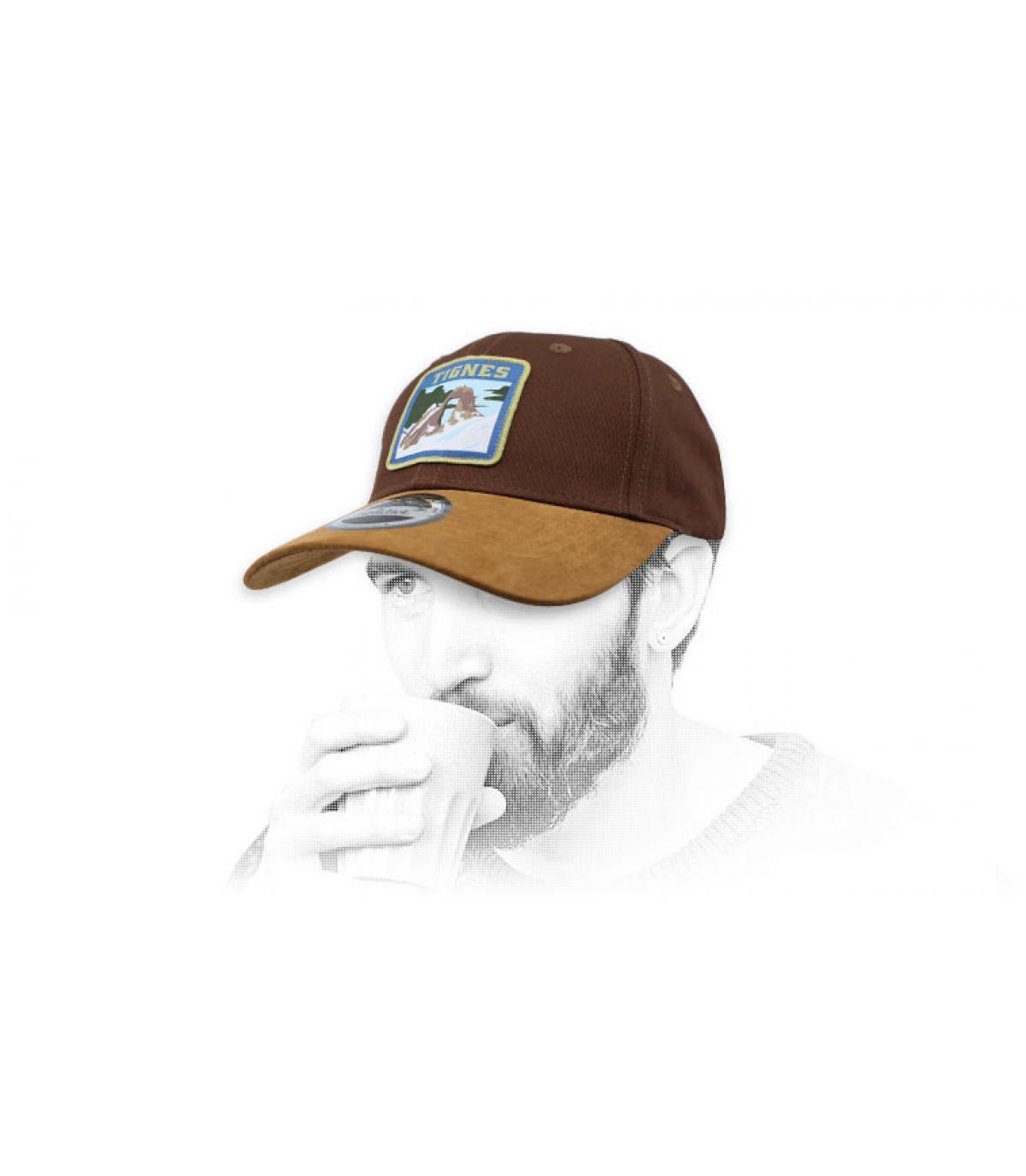 Tignes berretto marrone