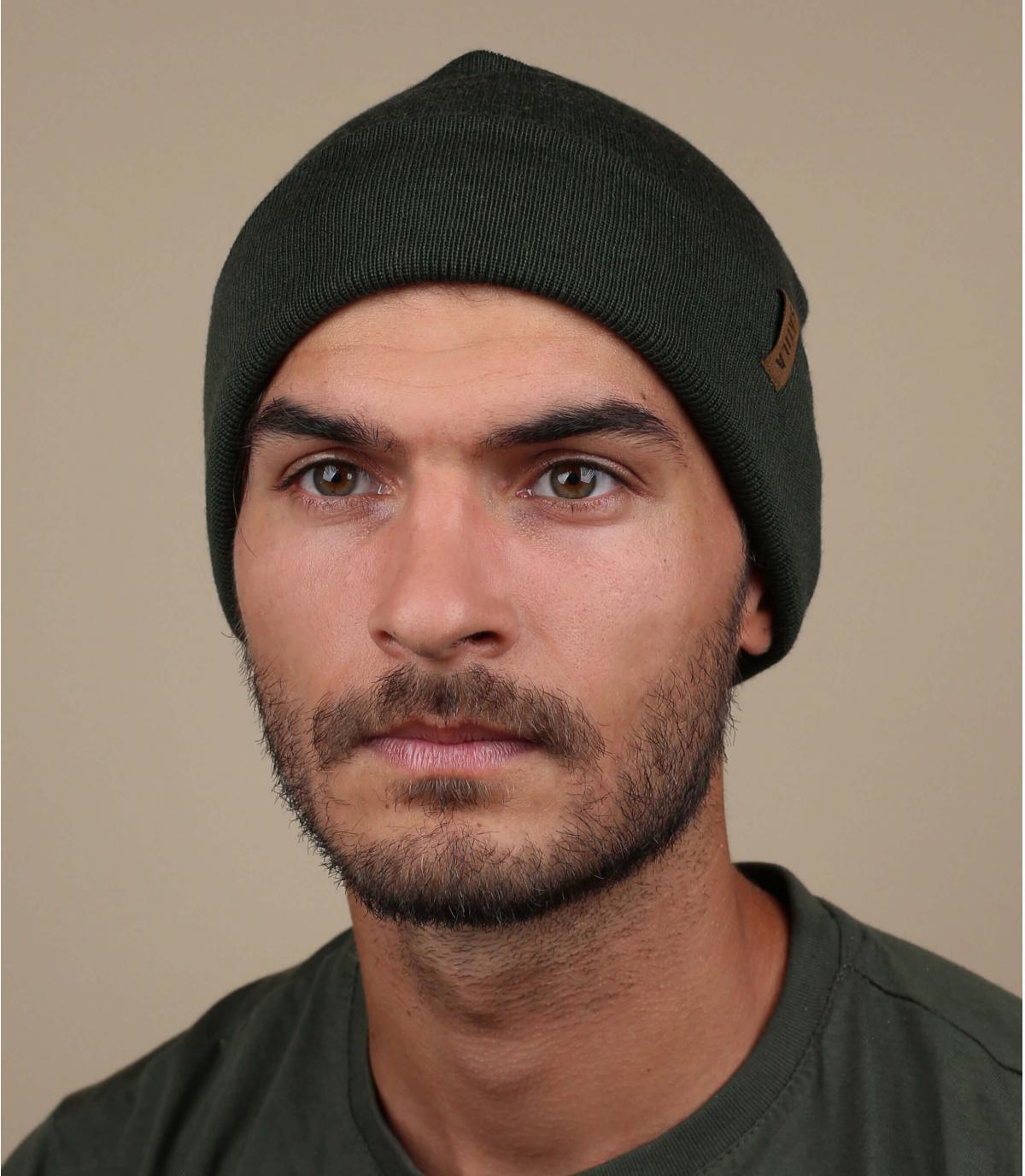 Cappello lungo verde satilia