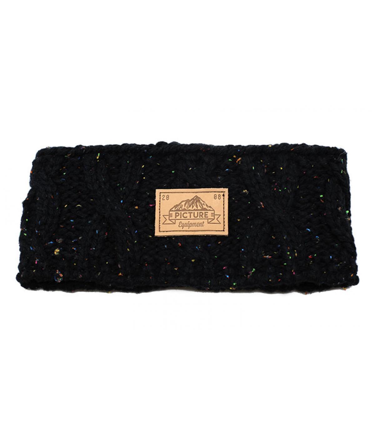 cappello nappa nero