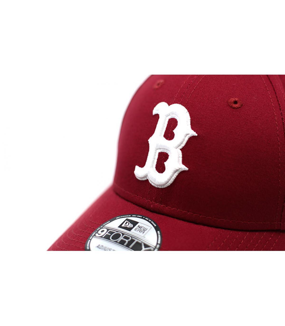 Dettagli League Ess 9Forty Boston cardinal - image 3