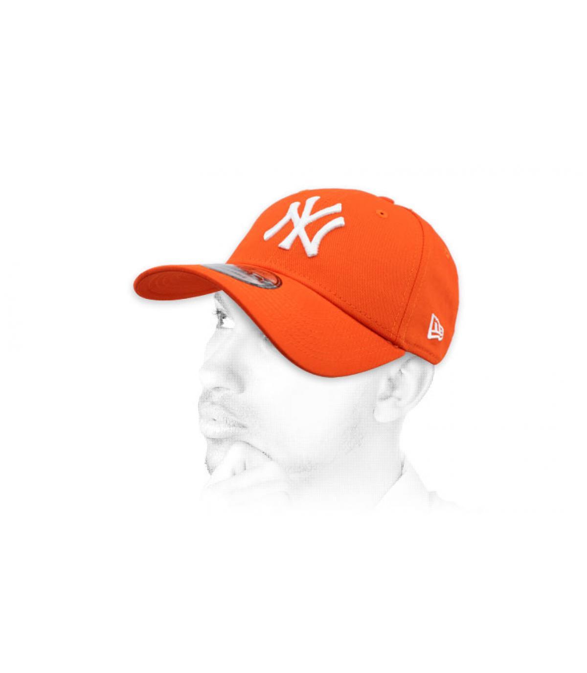 Cappellino Orange NY