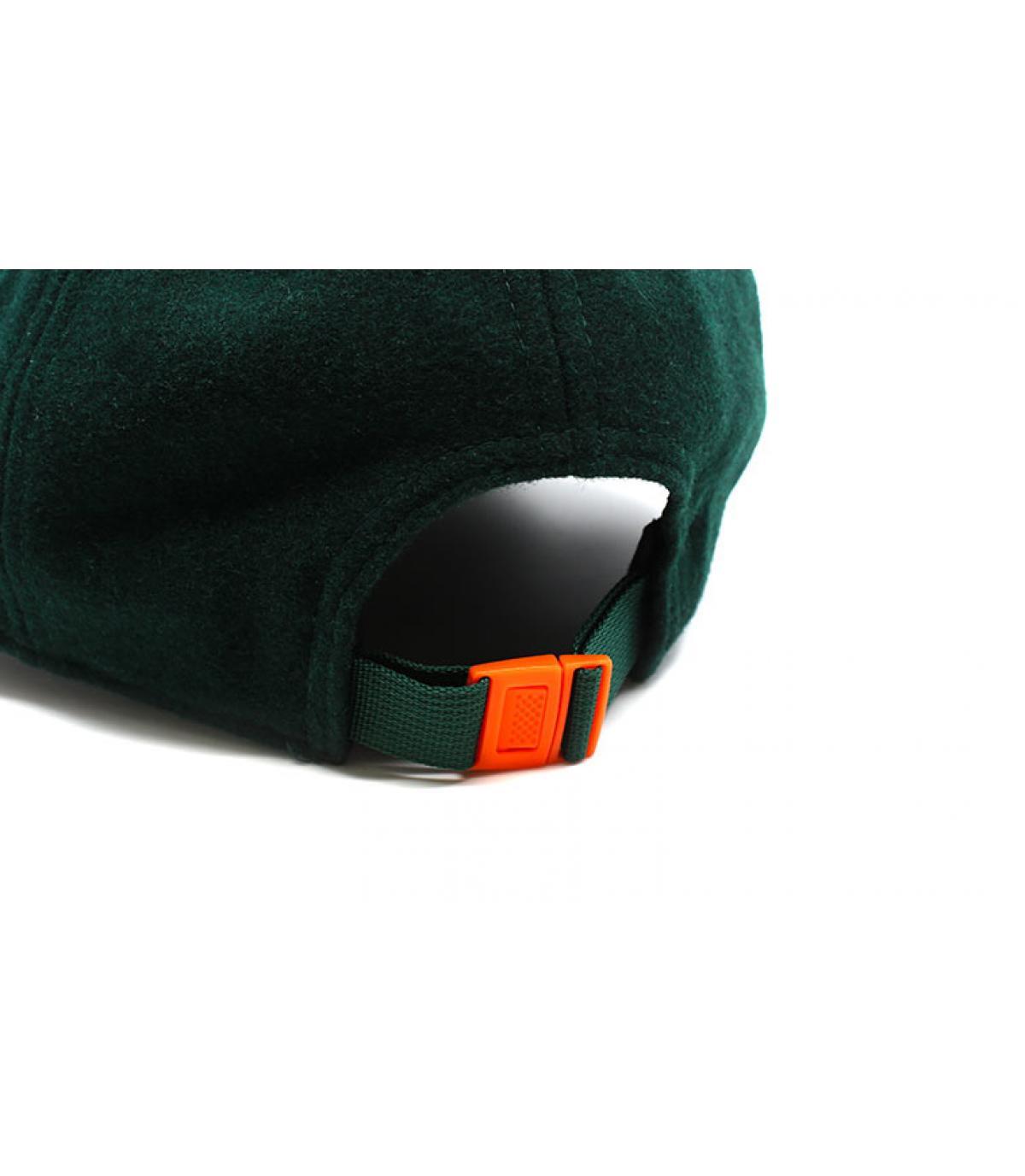 Dettagli Winter Utility Detroit Melton 9Fortydark green orange - image 5
