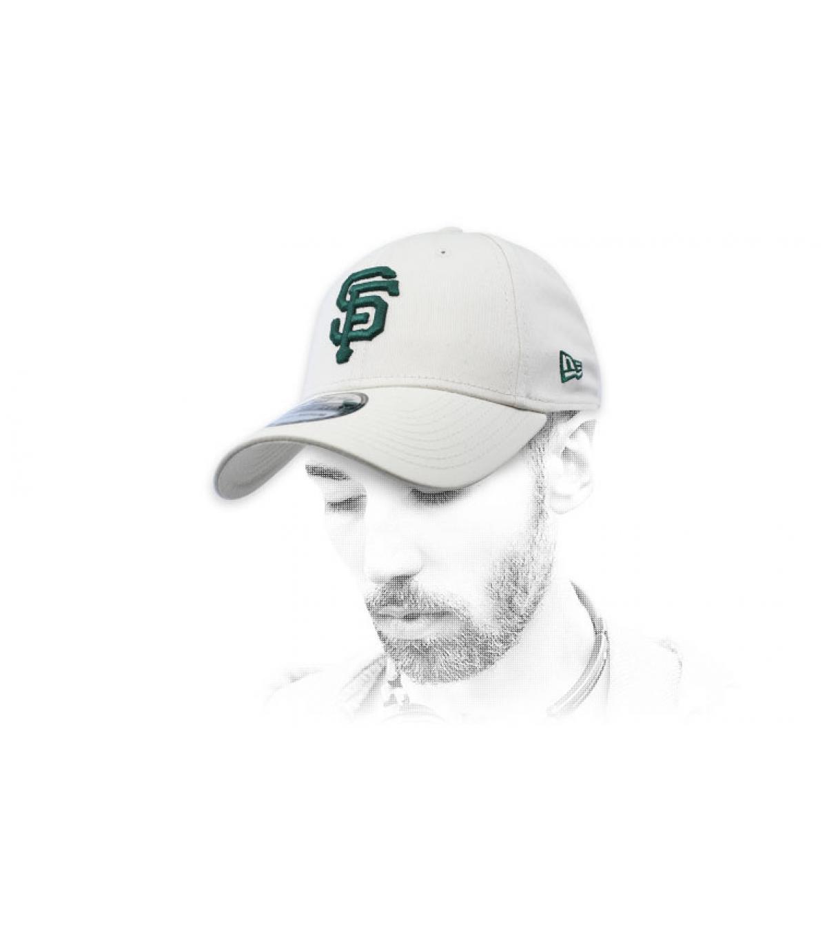 cappuccio grigio verde SF