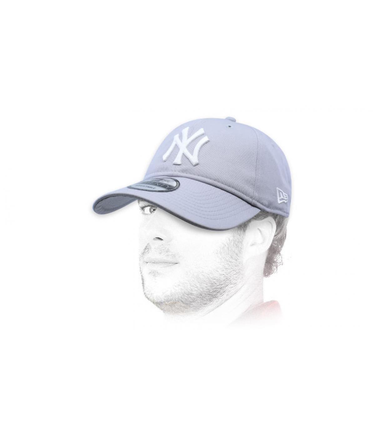 cappuccio NY pieghevole grigio