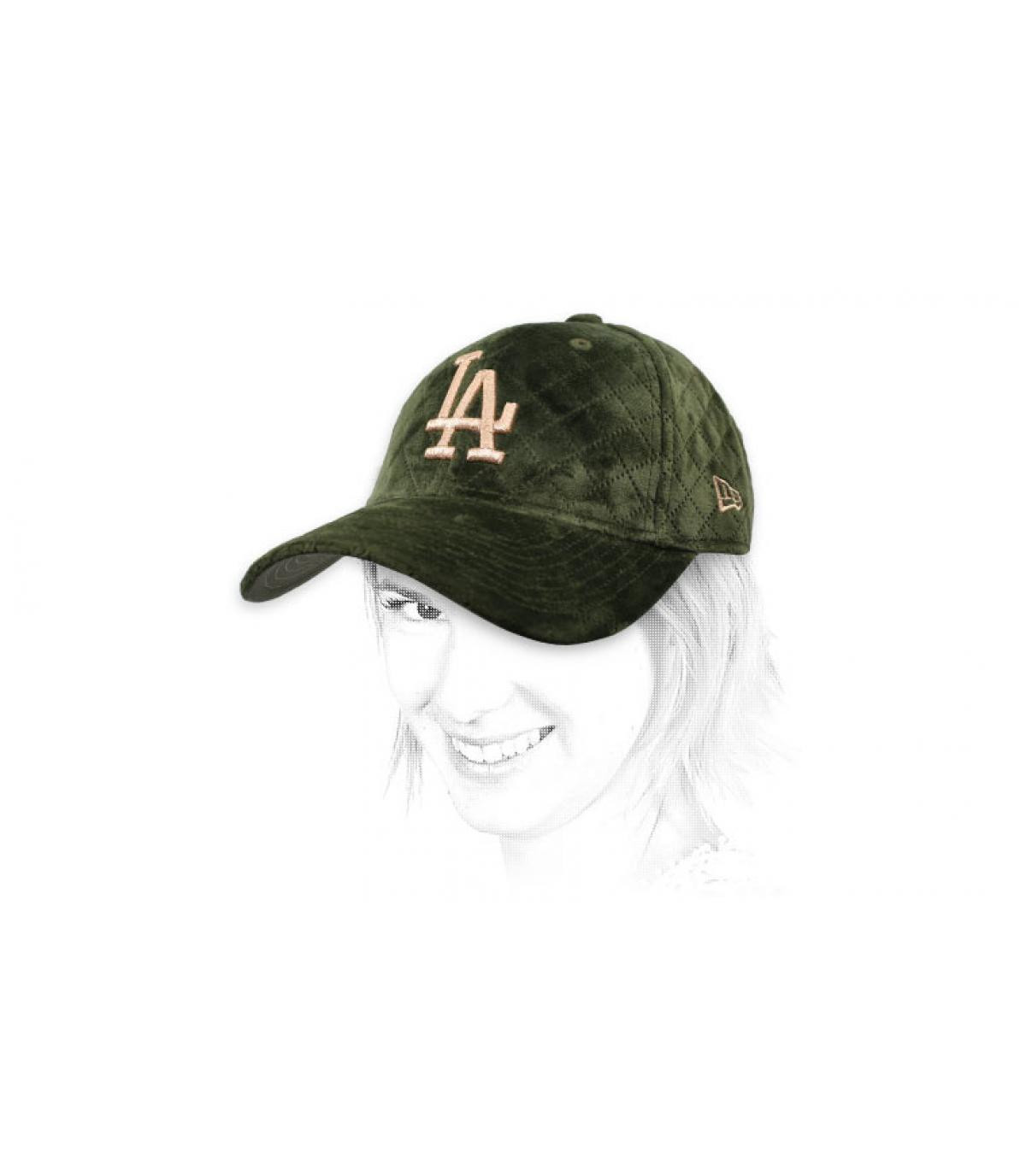 Cappellino da donna LA kakhi