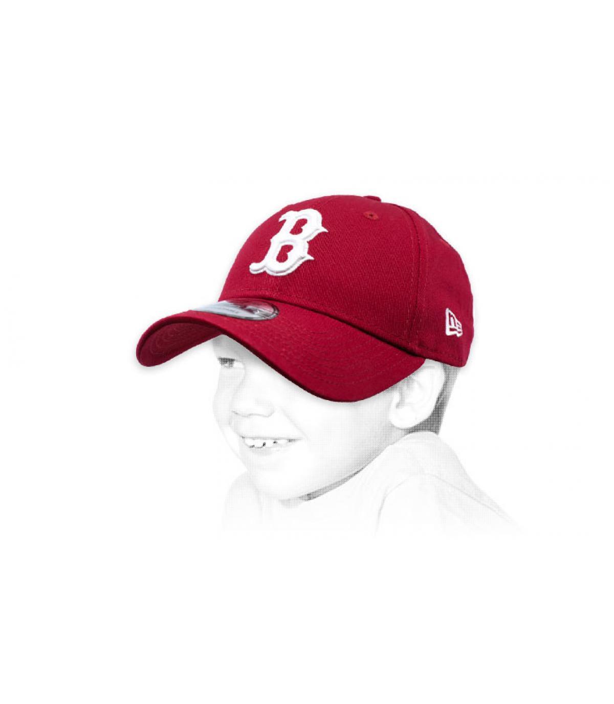 B berretto bordeaux