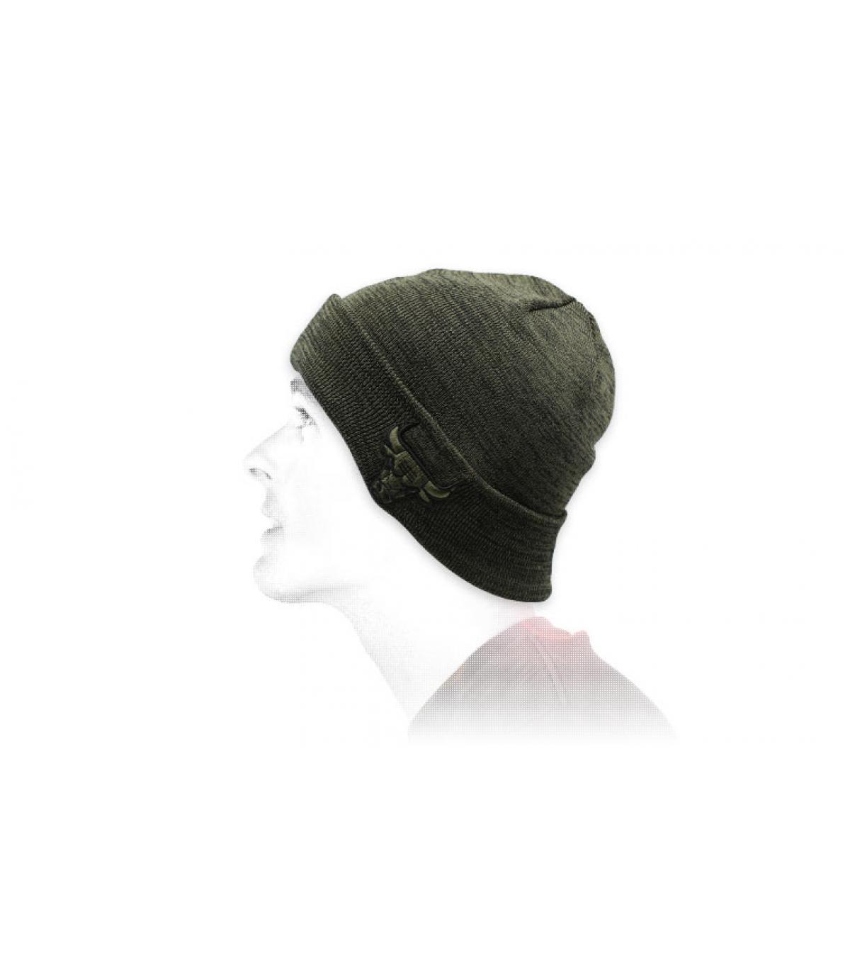 berretto verde oliva