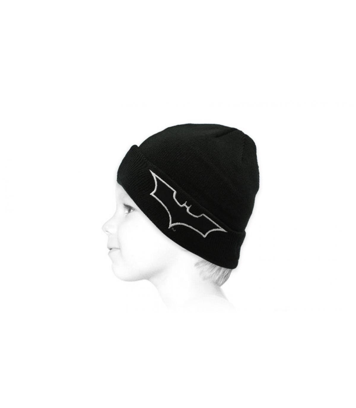 Cappello bimbo fosforescente di Batman