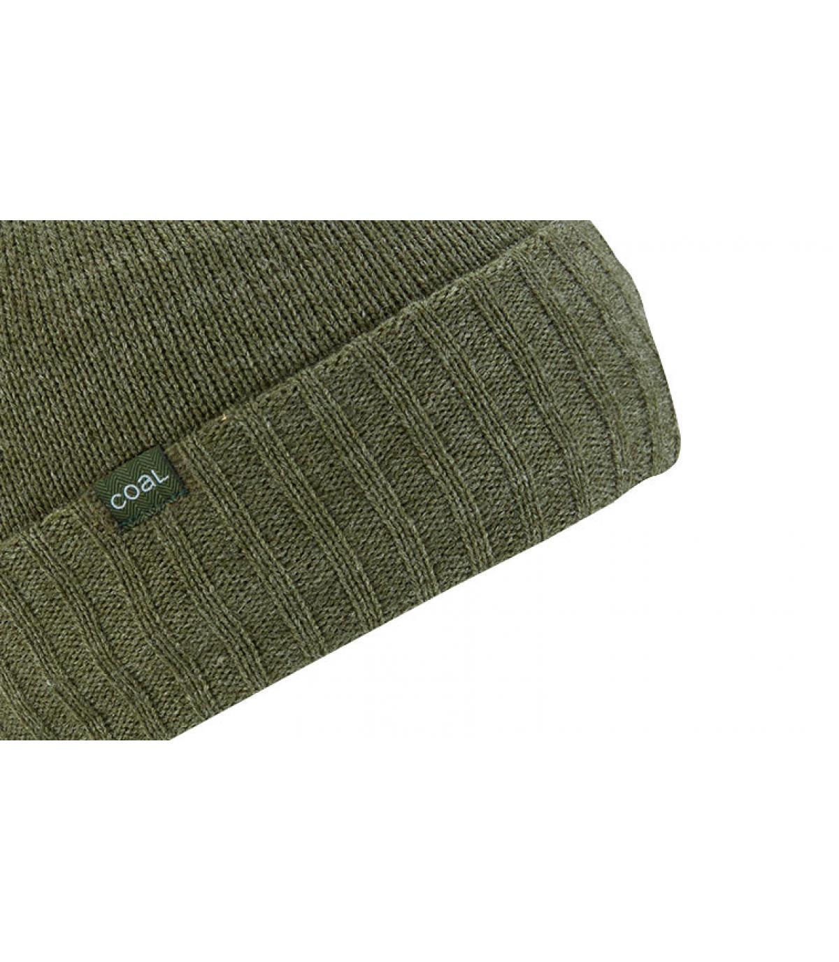 Sombrero reversible Green Coal