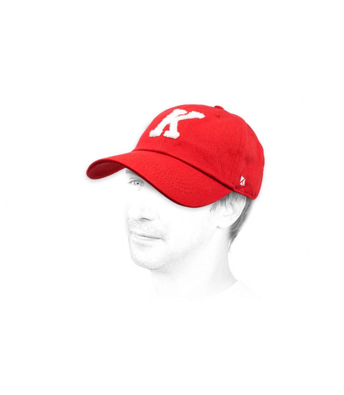 K bordeaux cap