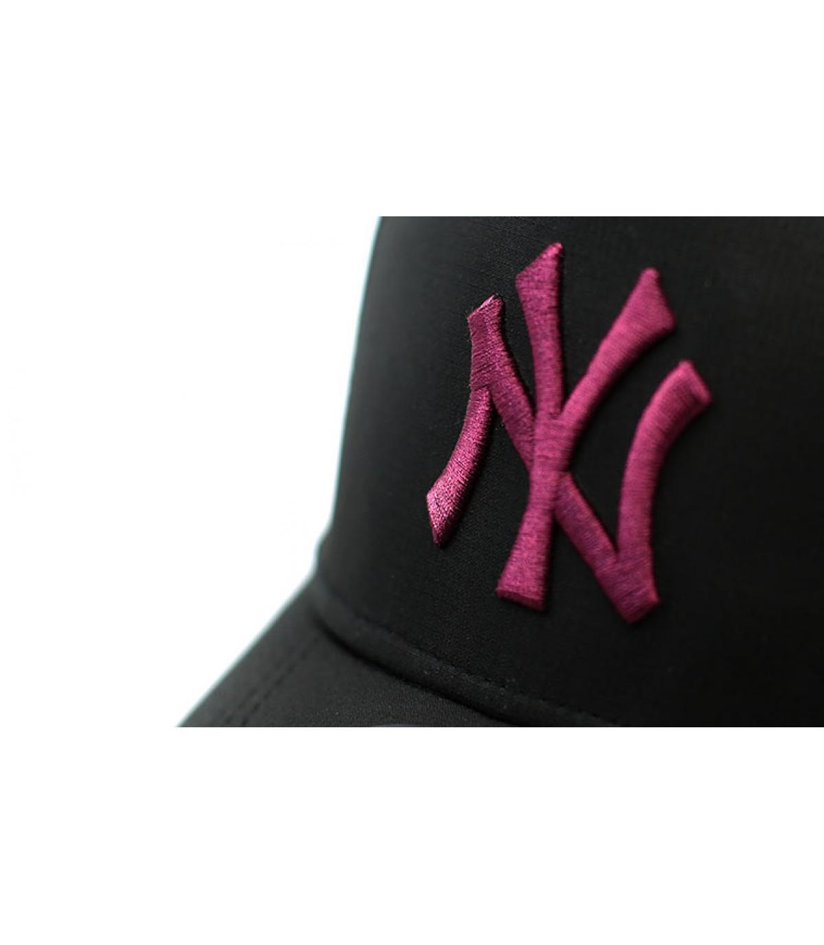 Dettagli Ripstop NY Aframe black maroon - image 3