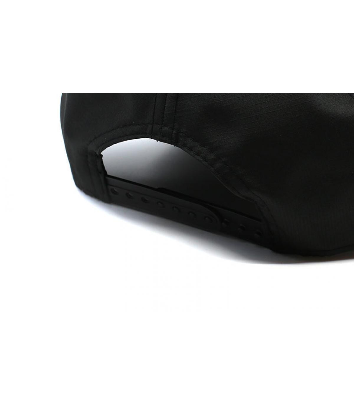 Dettagli Ripstop NY Aframe black maroon - image 5