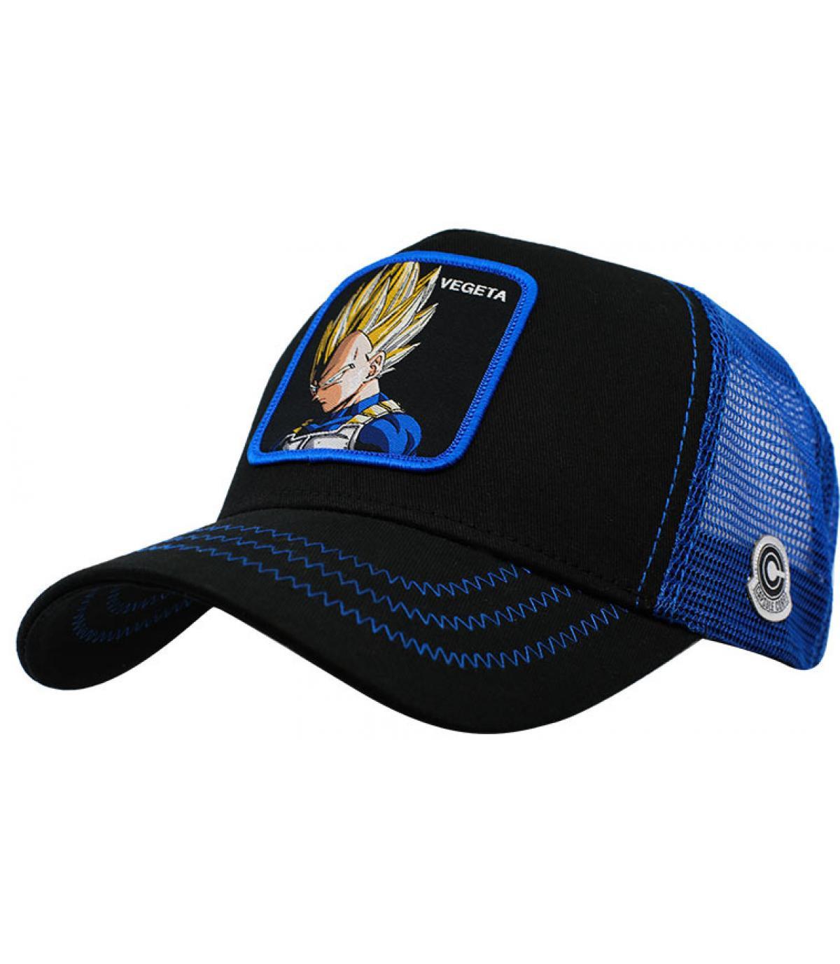 trucker Vegeta nero blu