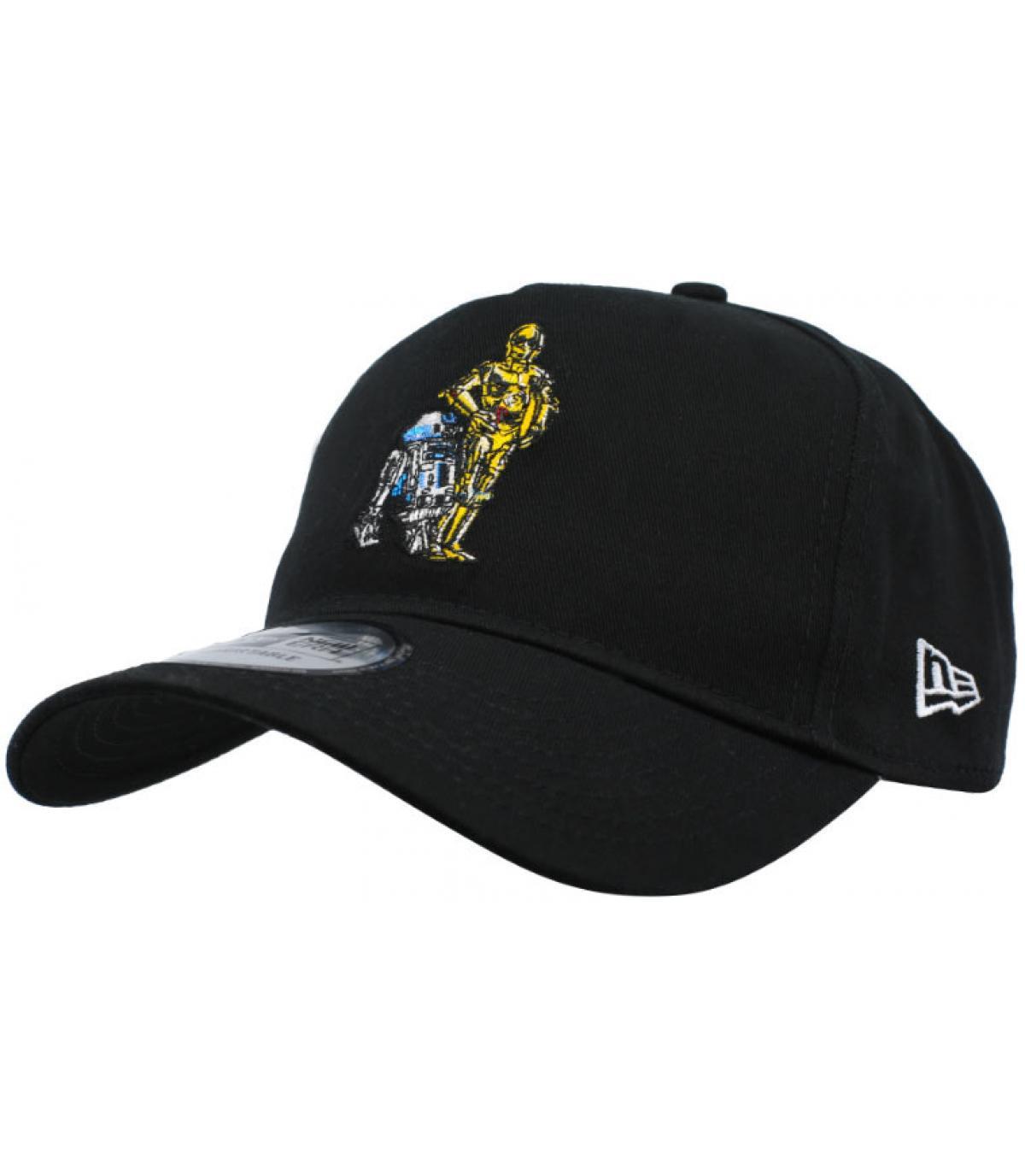 Star Wars Droid Black Cap