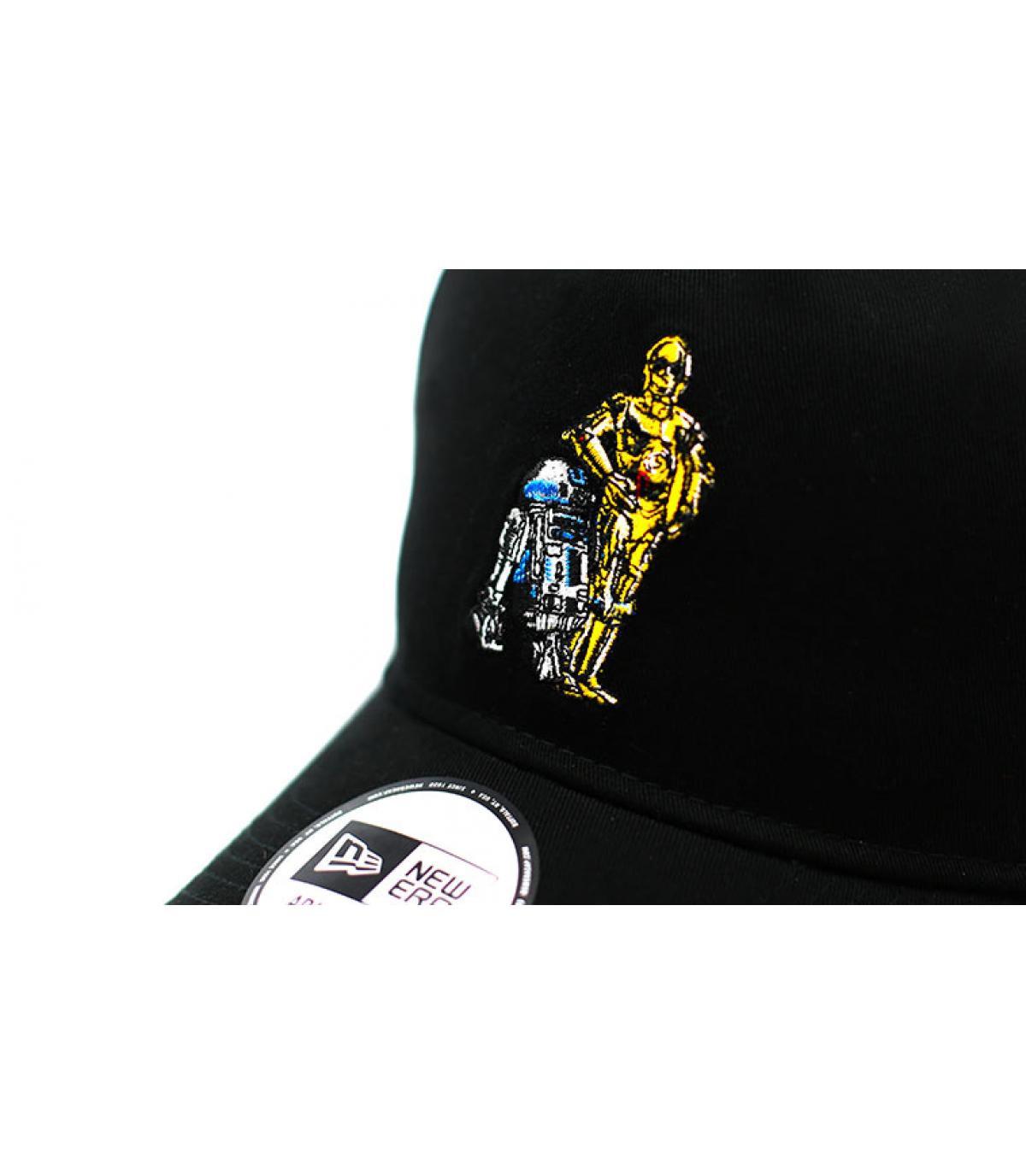 Dettagli Casquette Star Wars Droids 940 A Frame black - image 3