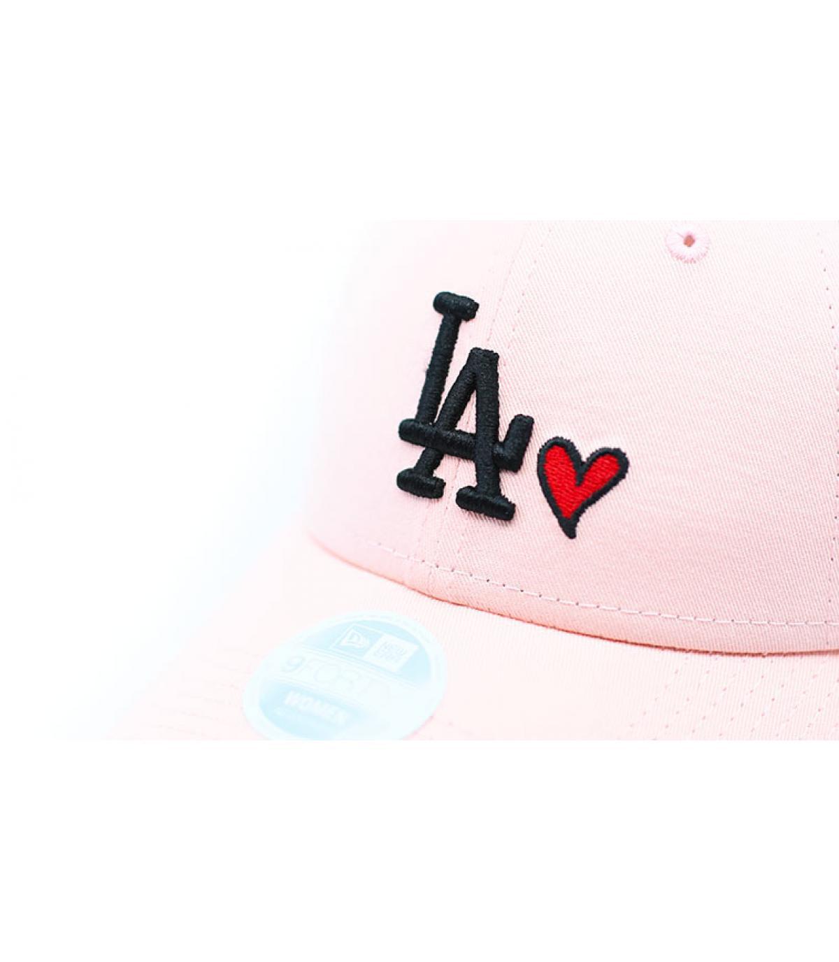 Dettagli Casquette Wmns Heart LA 940 pink - image 3