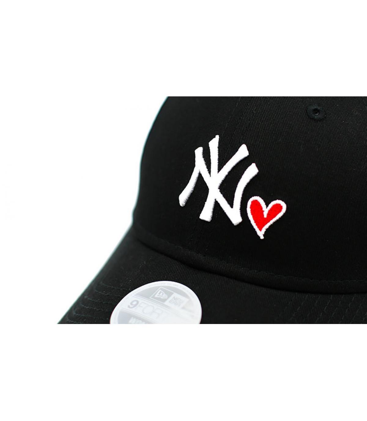 Dettagli Casquette Wmns Heart NY 940 black - image 3