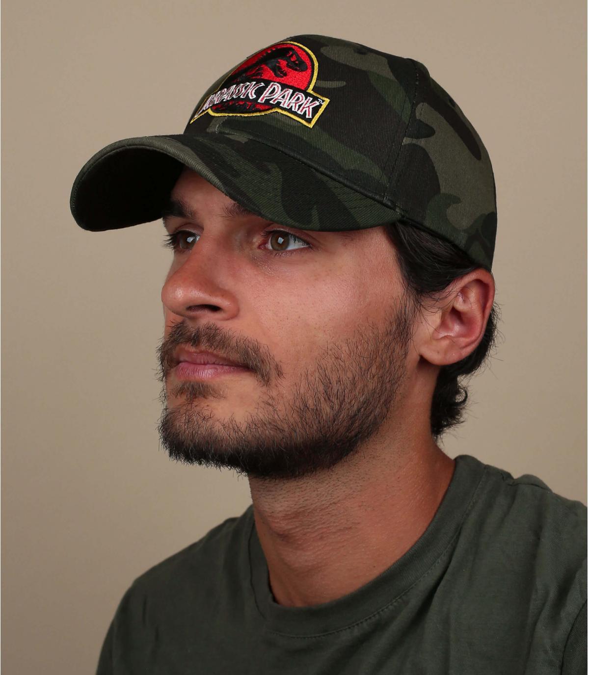 Cappellino mimetico Jurassic Park