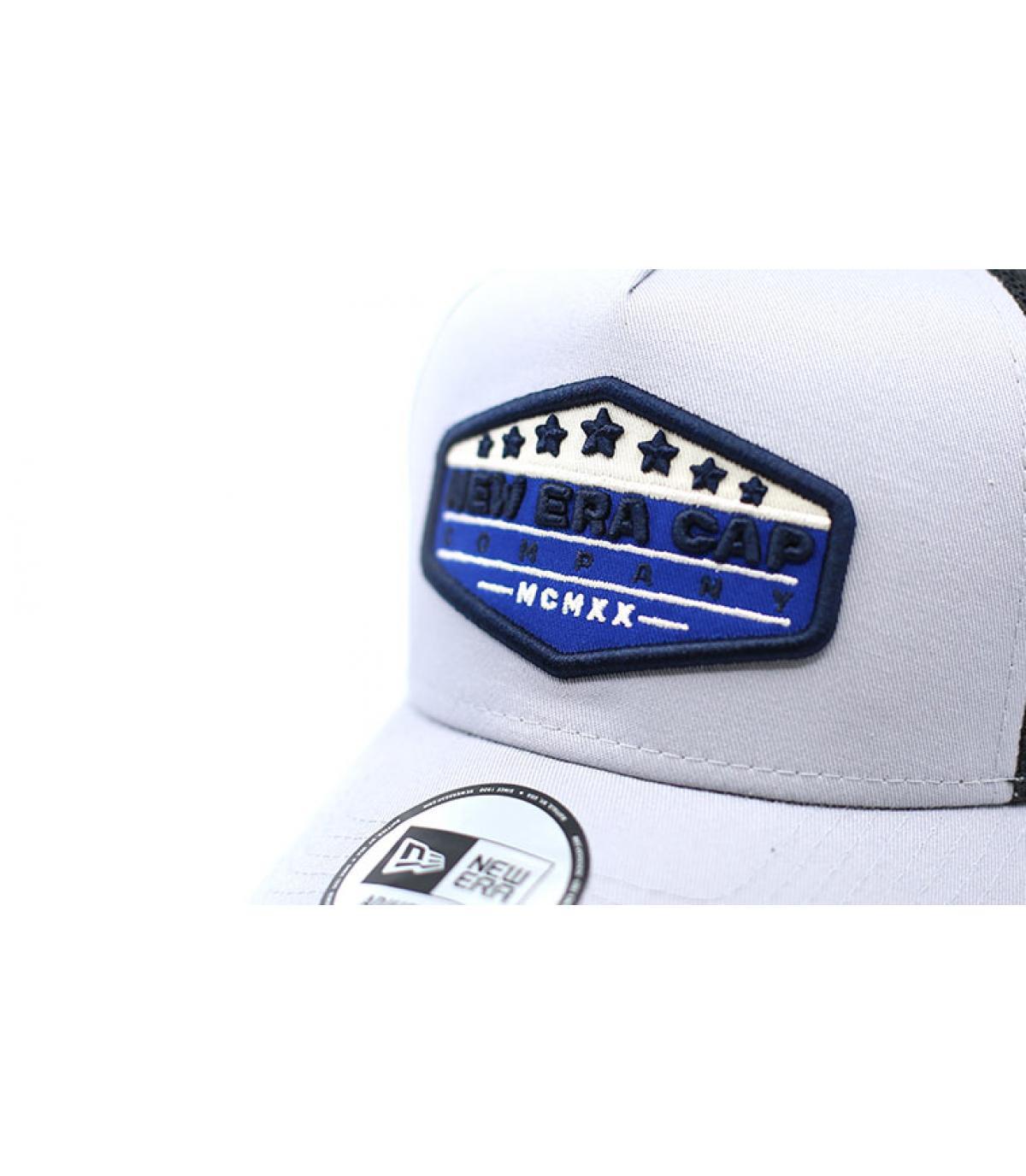 Dettagli Patch Trucker NE gray blue - image 3