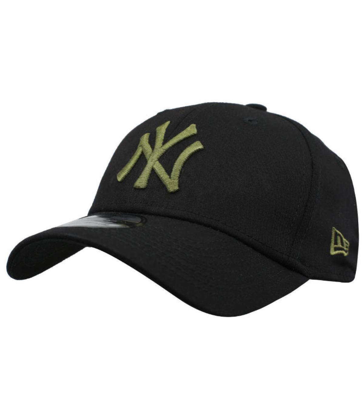 cappuccio NY nero verde