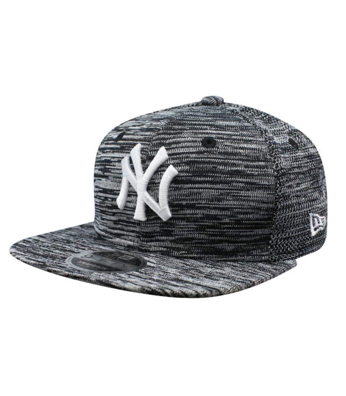 snapback ingegnerizzato grigio NY
