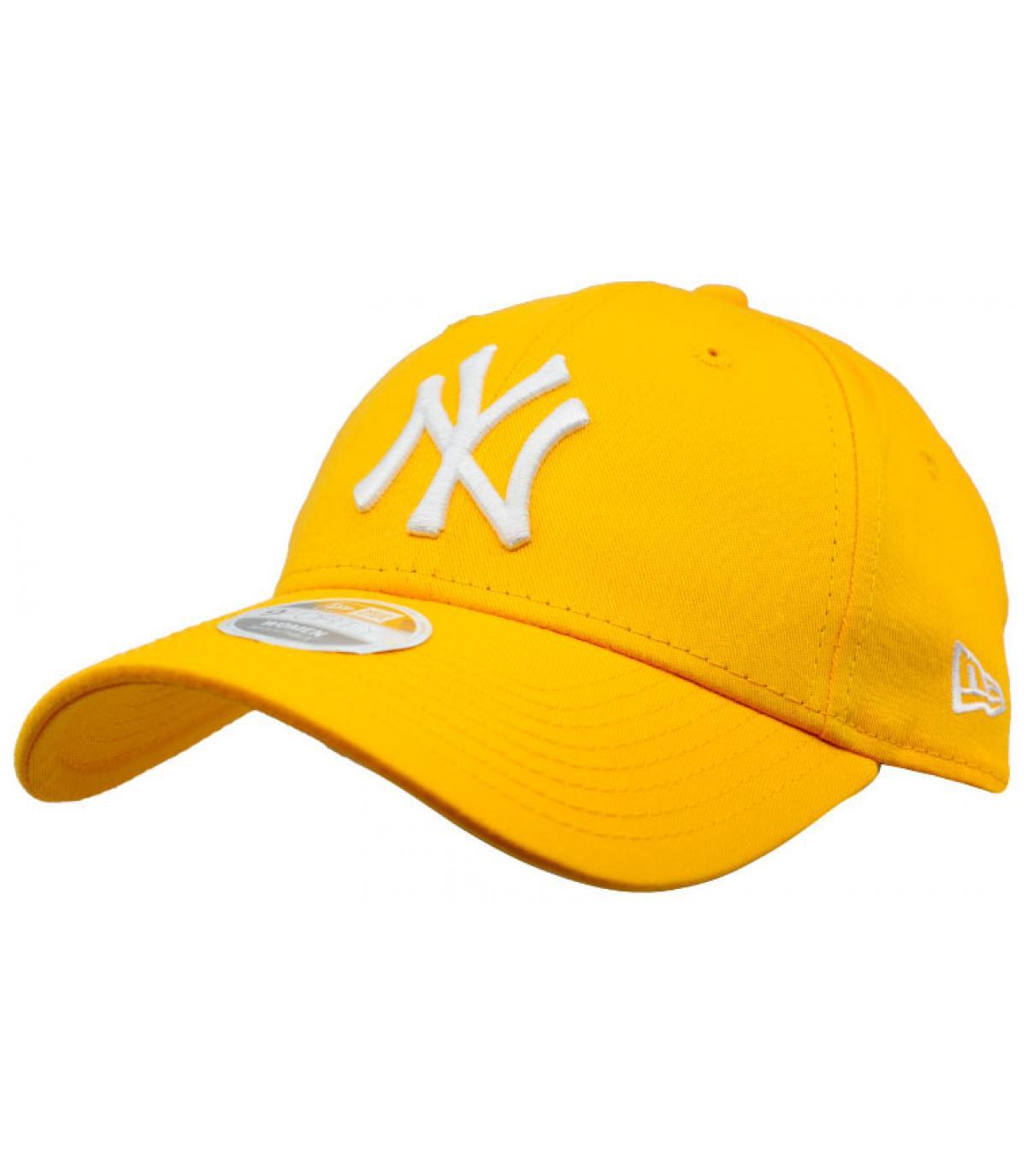 Berretto donna giallo NY
