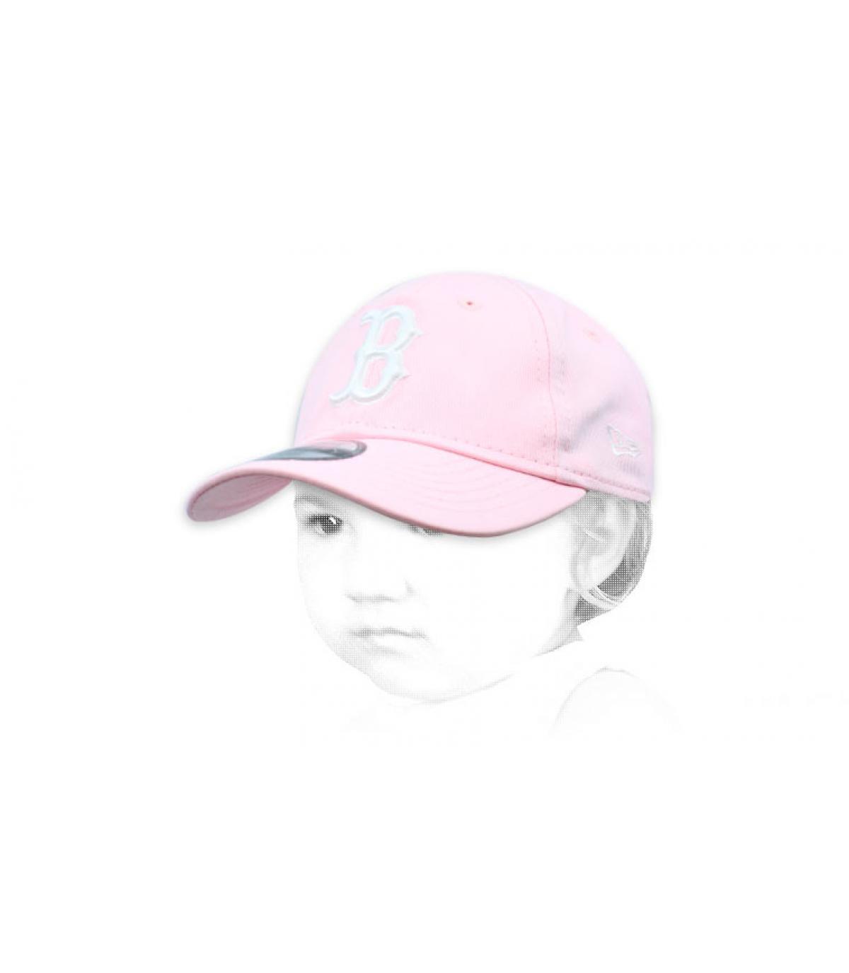 Berretta B rosa