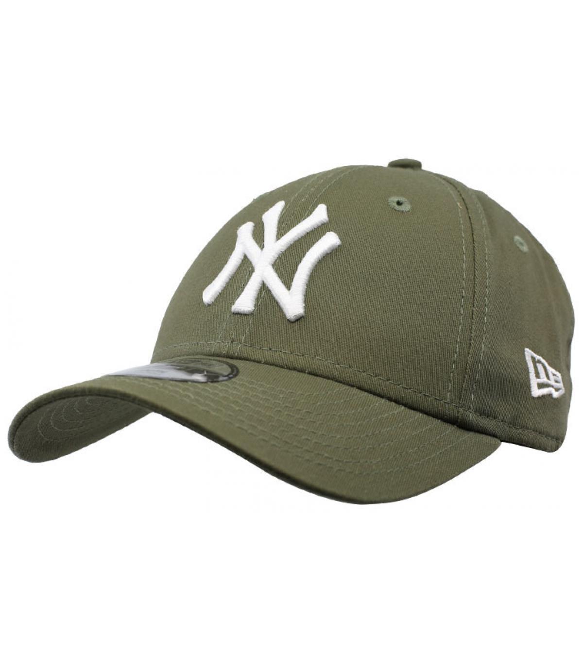New Era. NY berretto bambino verde. Dettagli Kids League Ess NY 9Forty olive  - image 2 ... 203310954011