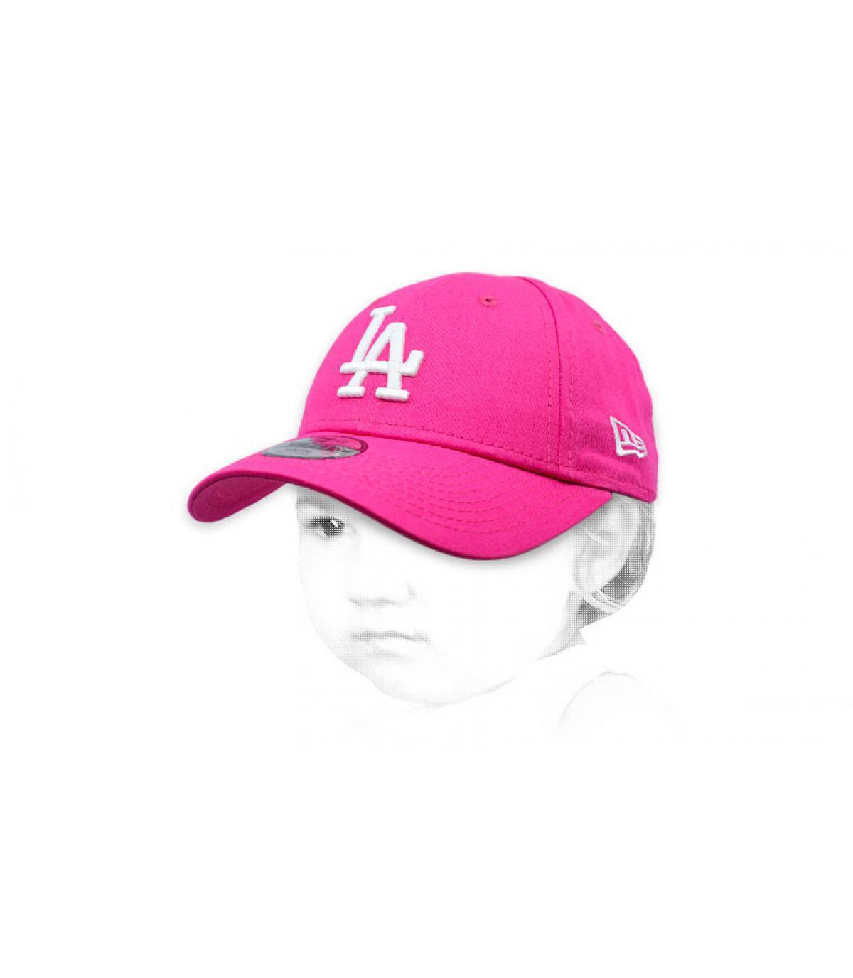 Berretto rosa LA
