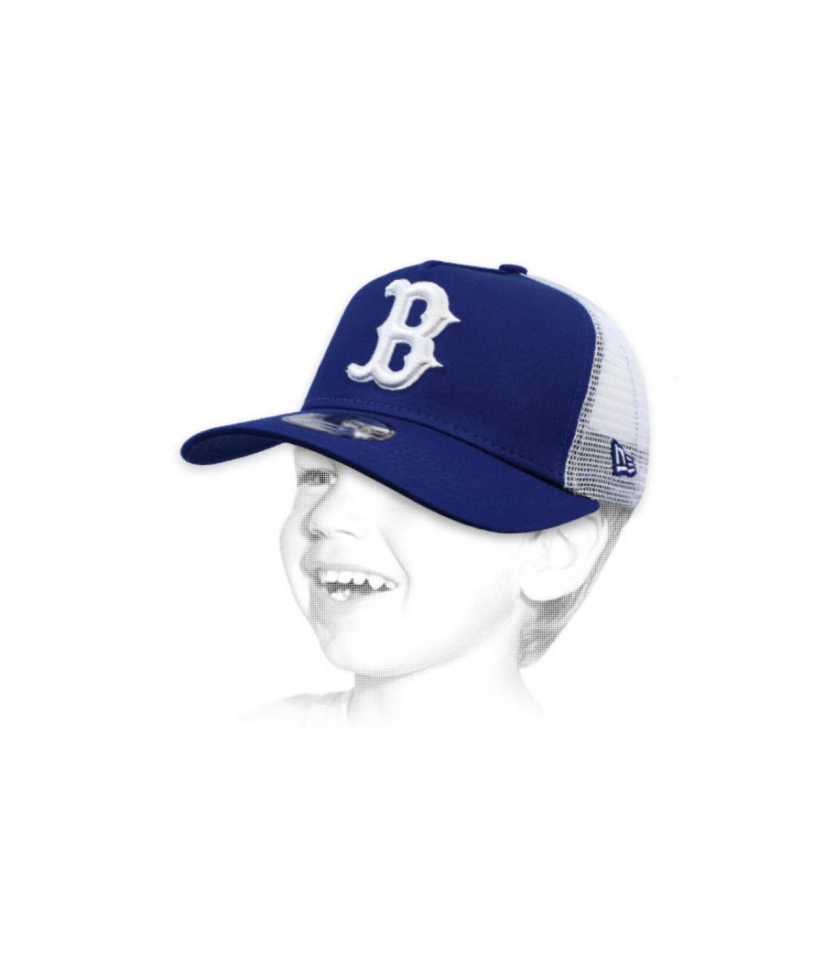 trucker bambino B blu ebb3cf97be0d