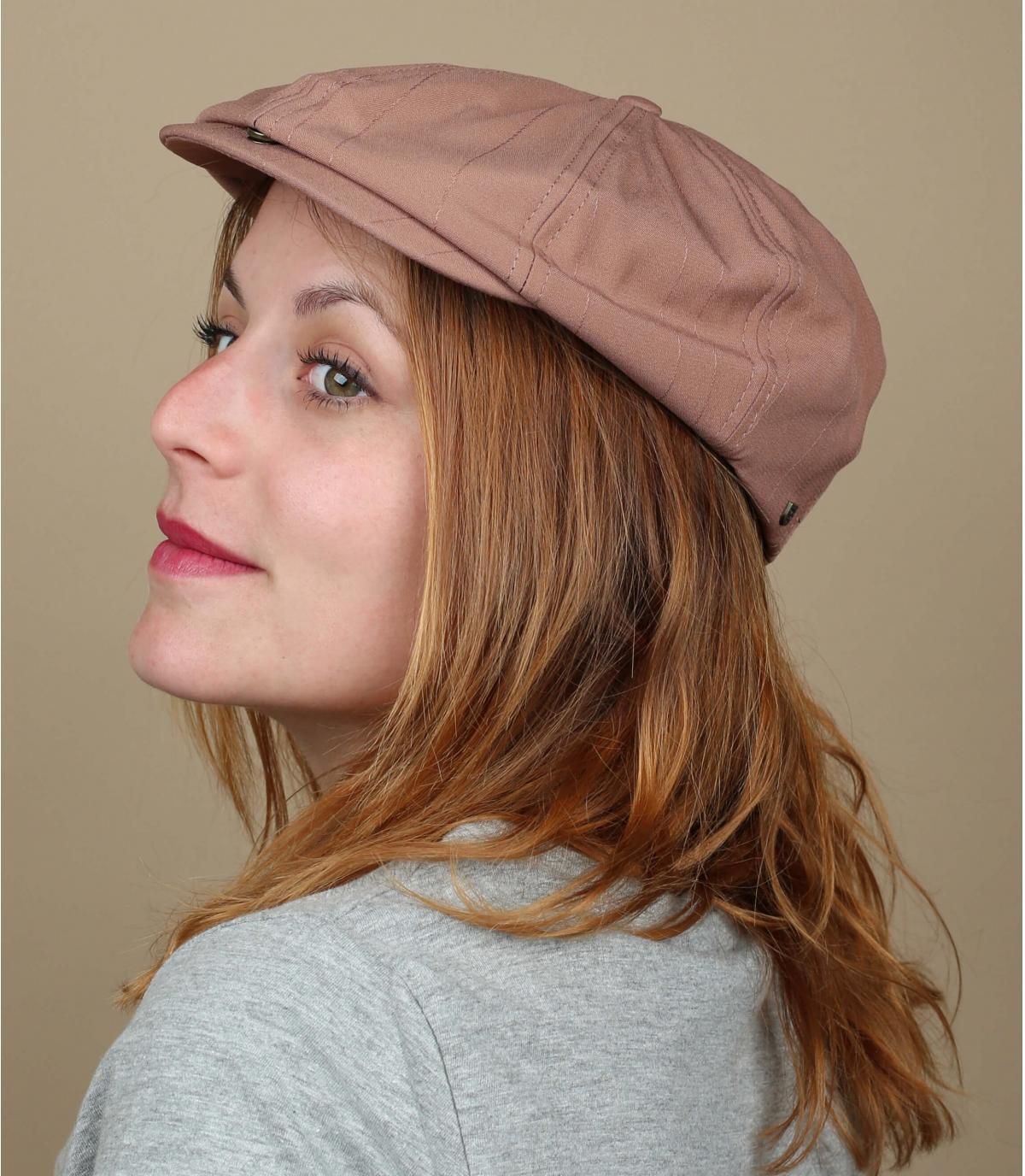berretto da baseball rosa Brixton