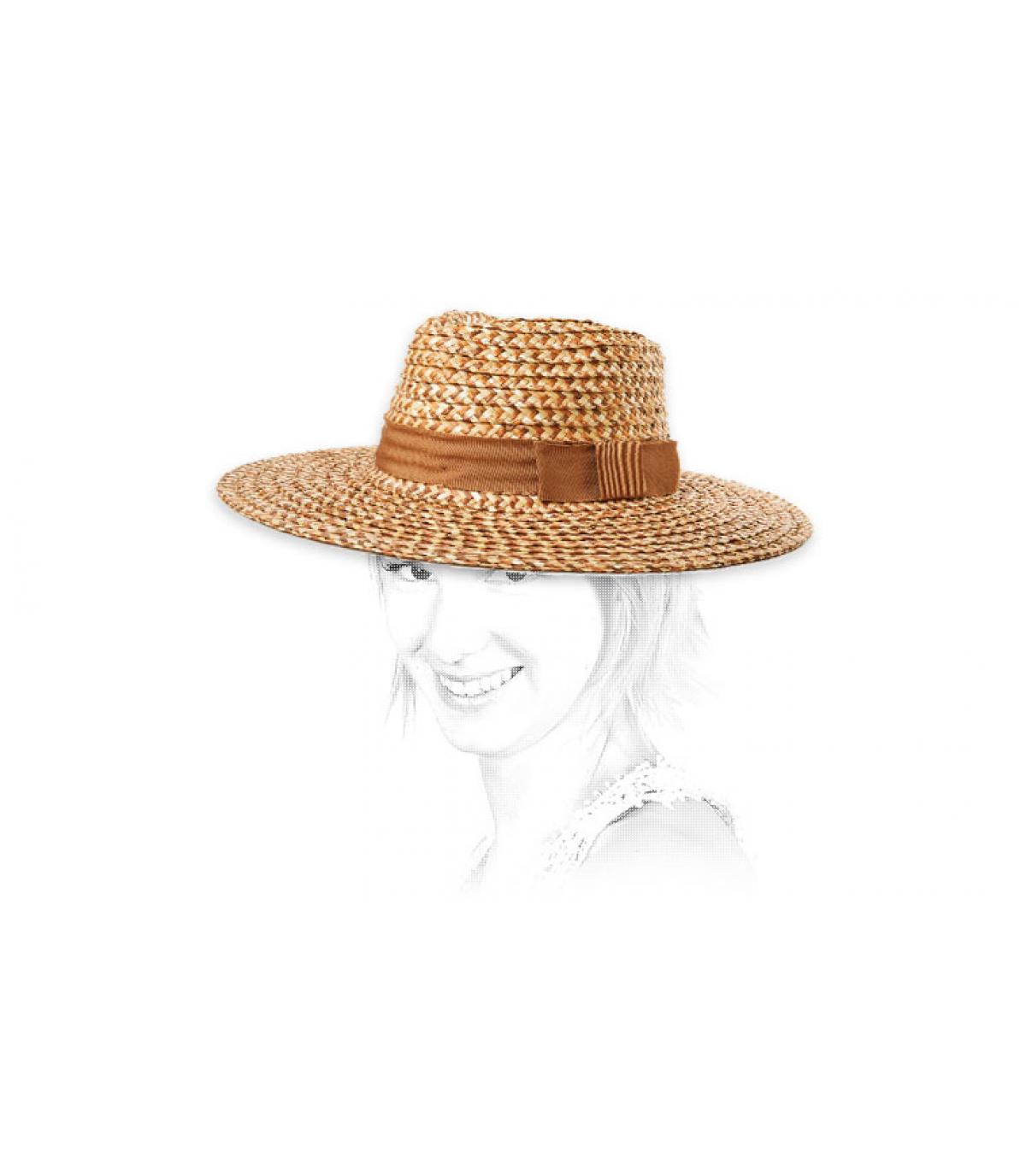 cappello di paglia donna Brixton