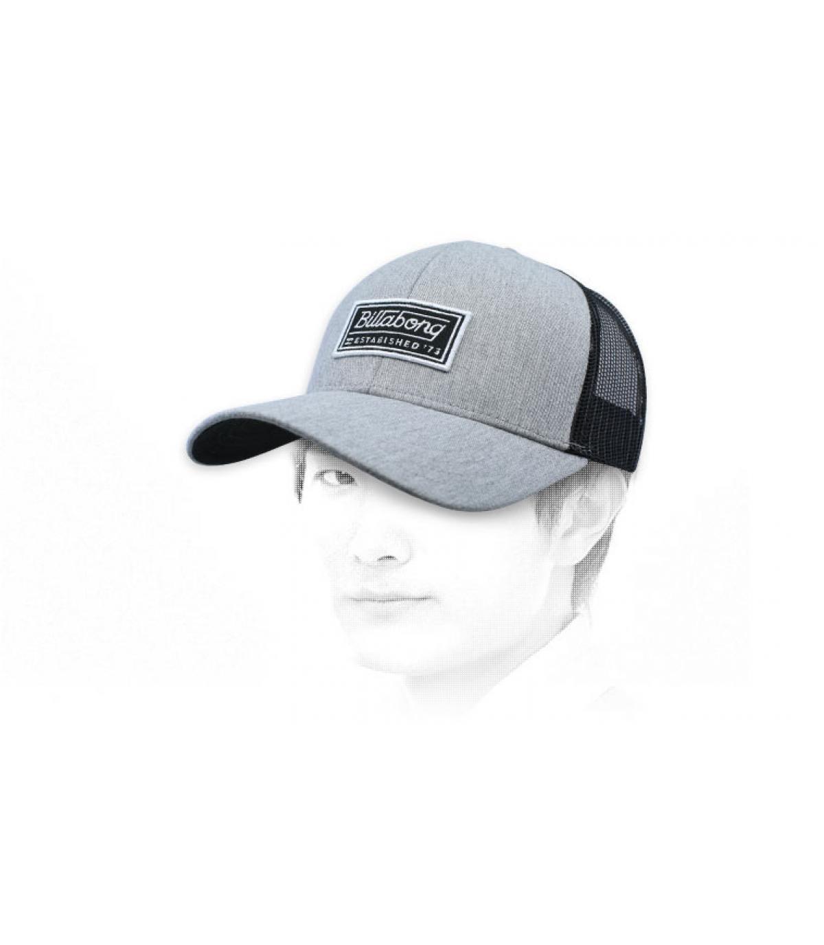 trucker grigio Billabong